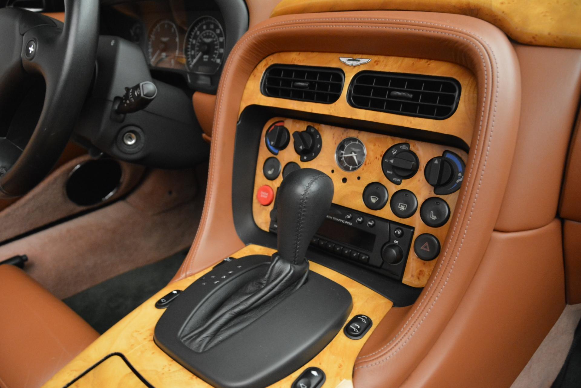 Used 2003 Aston Martin DB7 Vantage Volante For Sale In Greenwich, CT 2084_p29