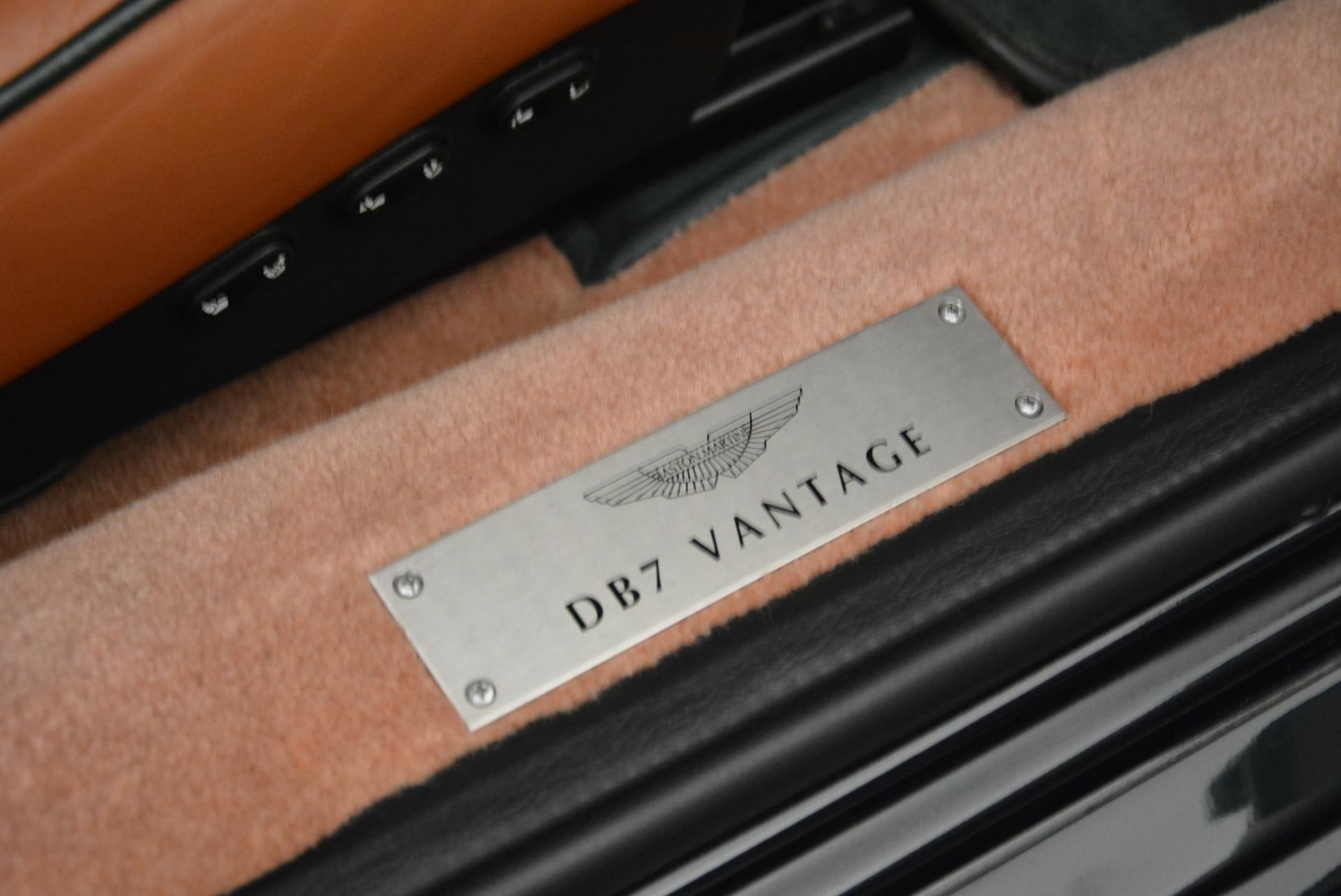 Used 2003 Aston Martin DB7 Vantage Volante For Sale In Greenwich, CT 2084_p30