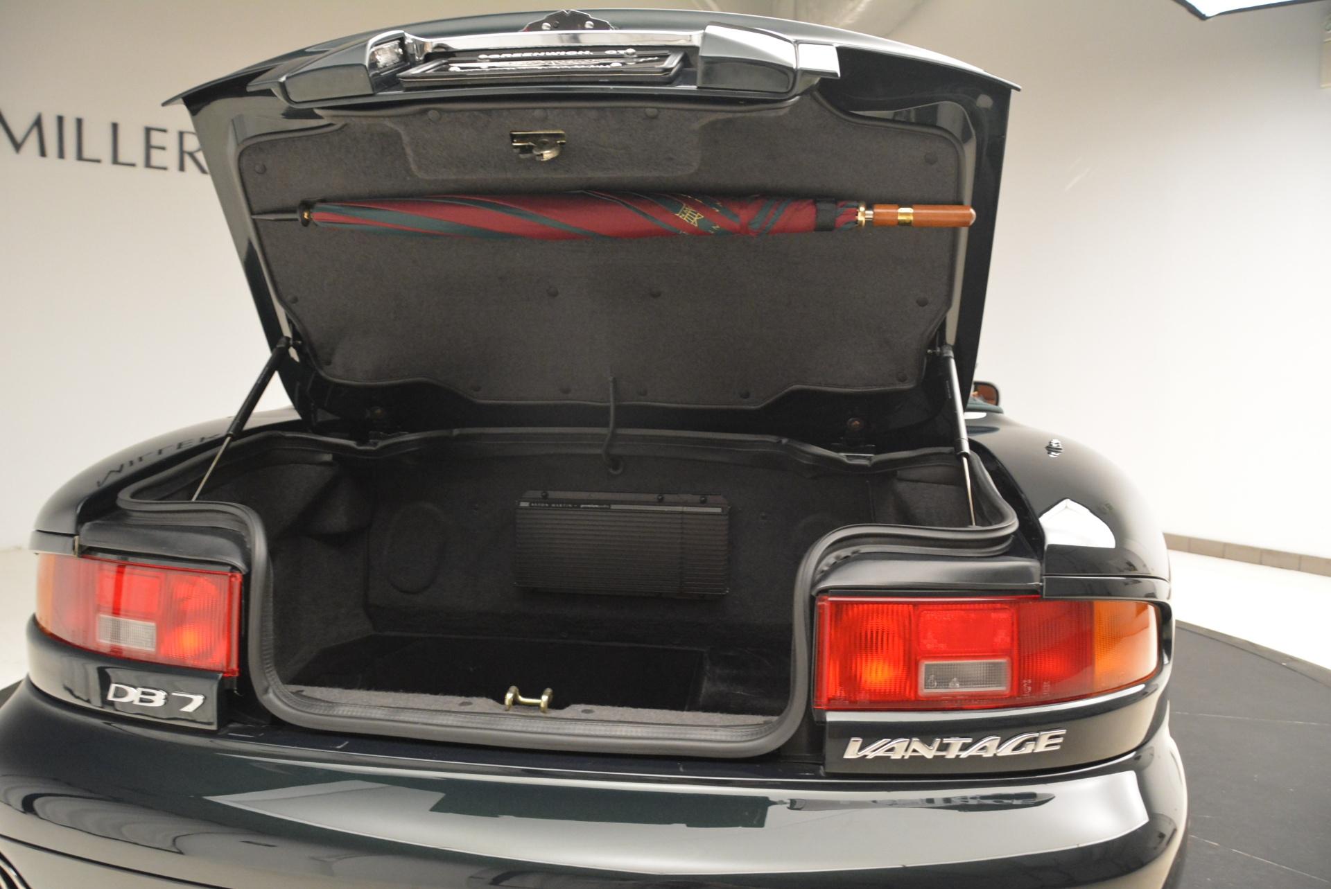 Used 2003 Aston Martin DB7 Vantage Volante For Sale In Greenwich, CT 2084_p31