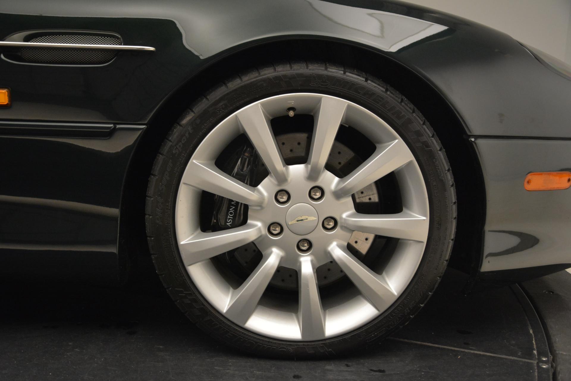 Used 2003 Aston Martin DB7 Vantage Volante For Sale In Greenwich, CT 2084_p32