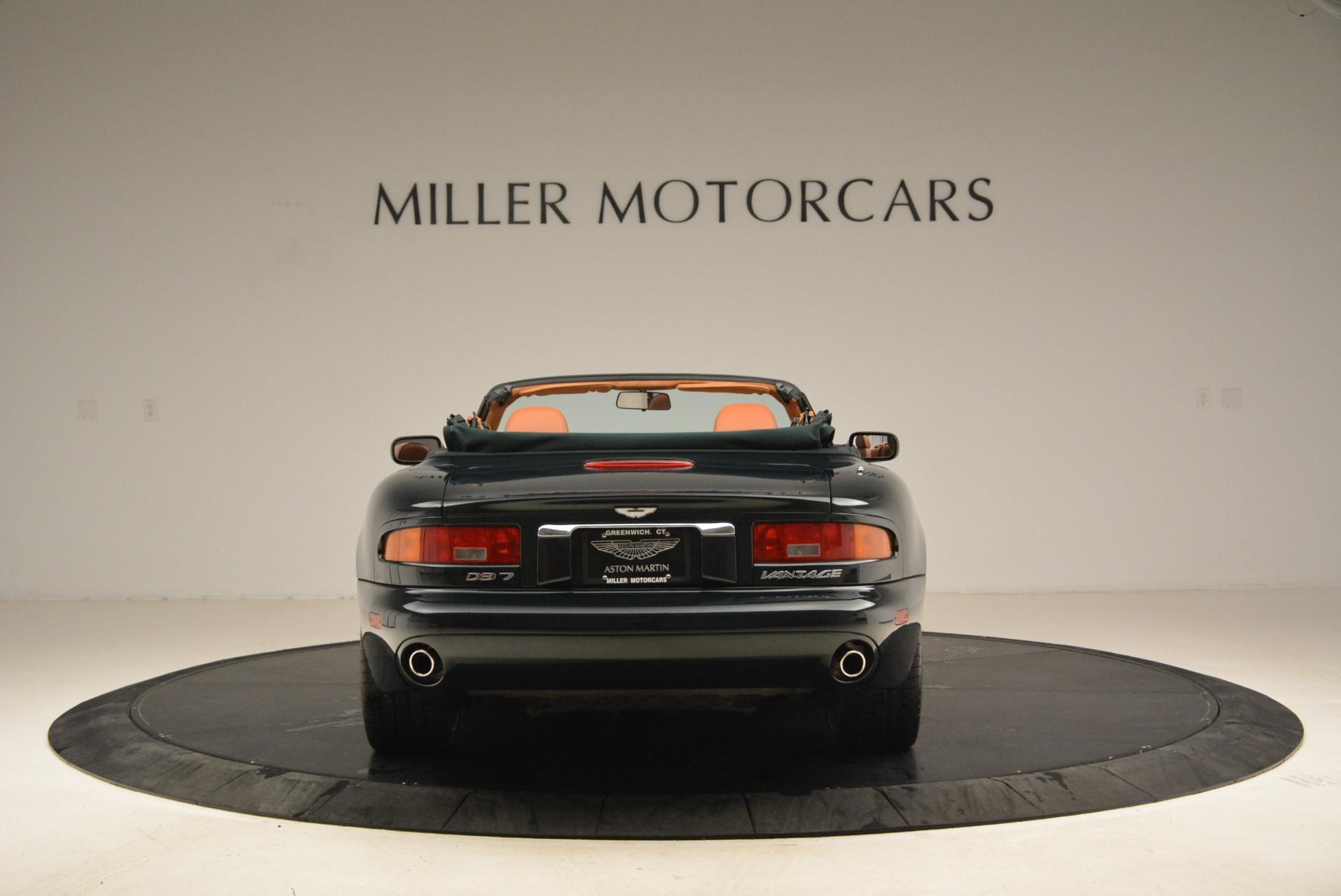 Used 2003 Aston Martin DB7 Vantage Volante For Sale In Greenwich, CT 2084_p6