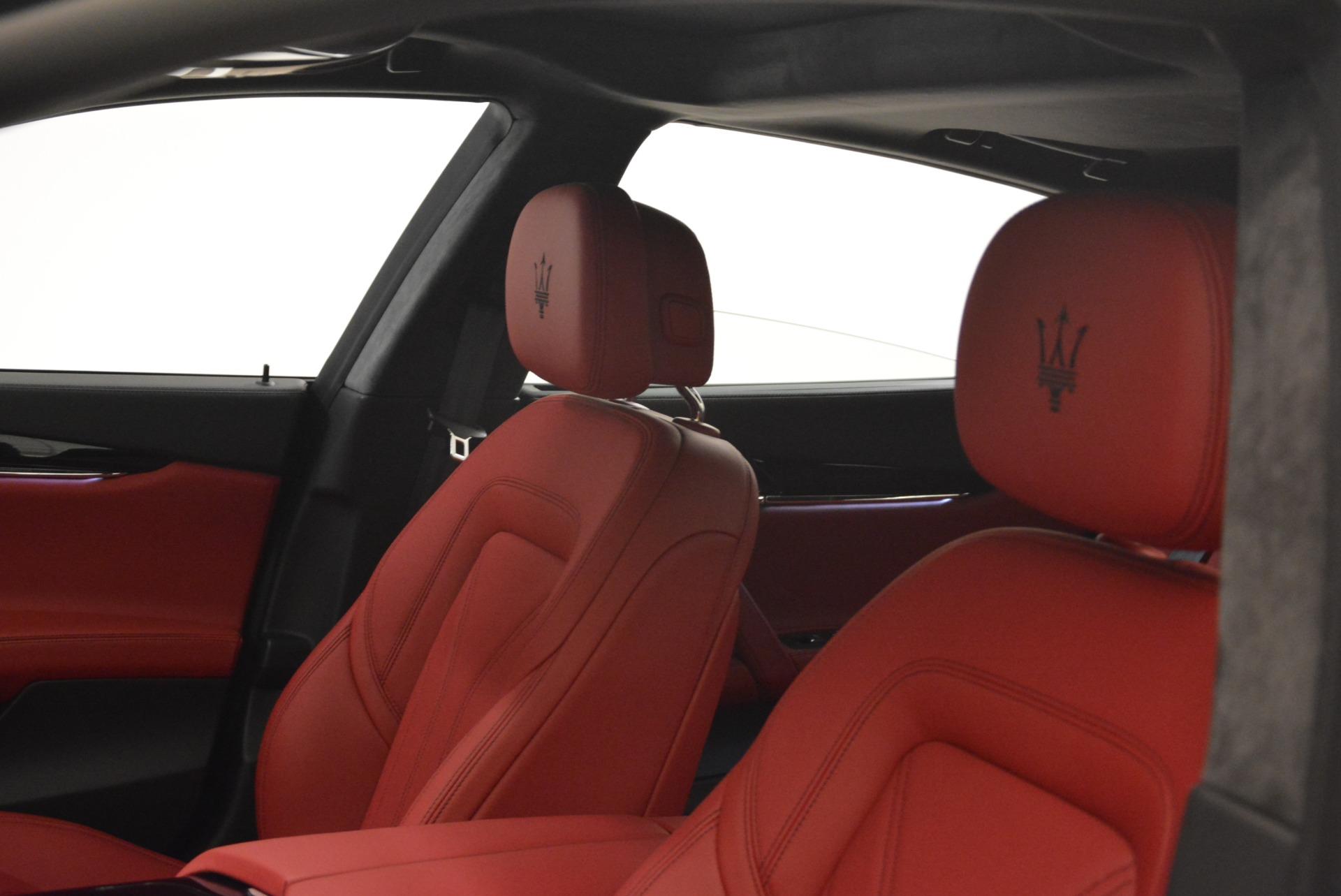 New 2018 Maserati Quattroporte S Q4 GranLusso For Sale In Greenwich, CT 2085_p17