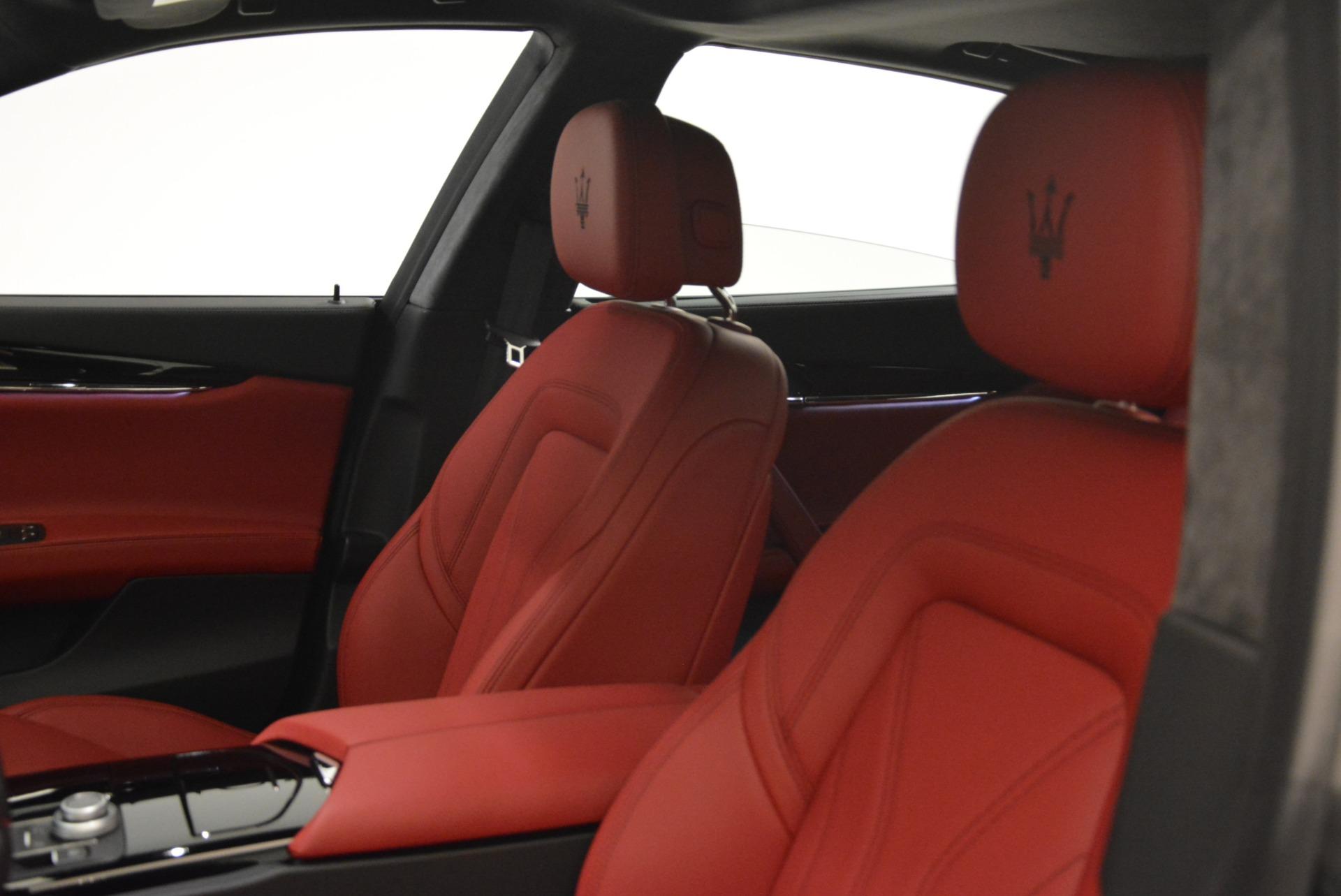 New 2018 Maserati Quattroporte S Q4 GranLusso For Sale In Greenwich, CT 2085_p21
