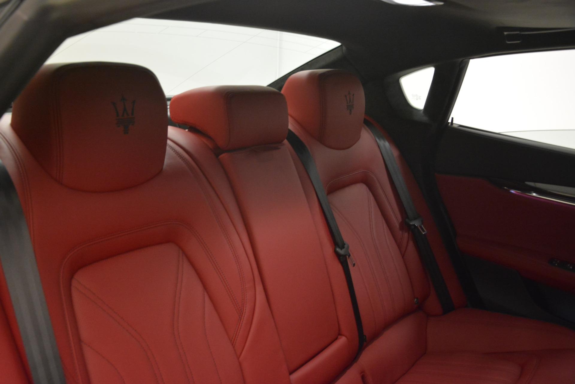 New 2018 Maserati Quattroporte S Q4 GranLusso For Sale In Greenwich, CT 2085_p29