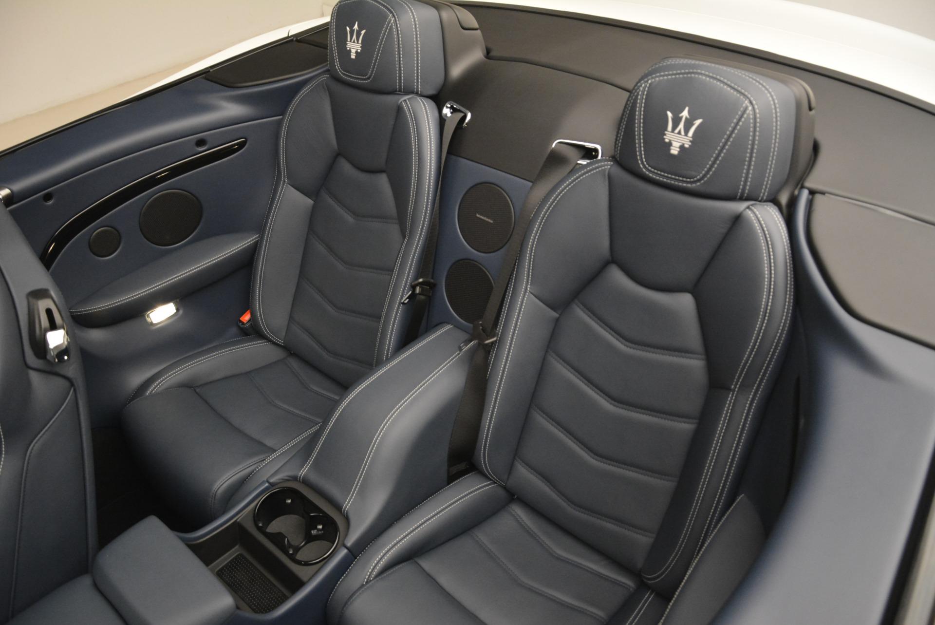 New 2018 Maserati GranTurismo Sport Convertible For Sale In Greenwich, CT 2120_p21