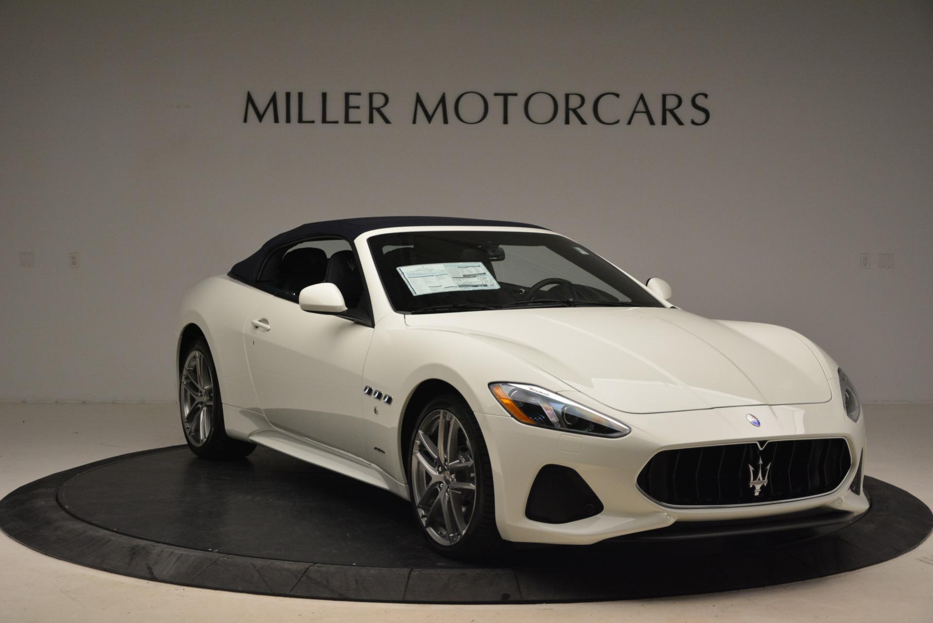 New 2018 Maserati GranTurismo Sport Convertible For Sale In Greenwich, CT 2120_p9