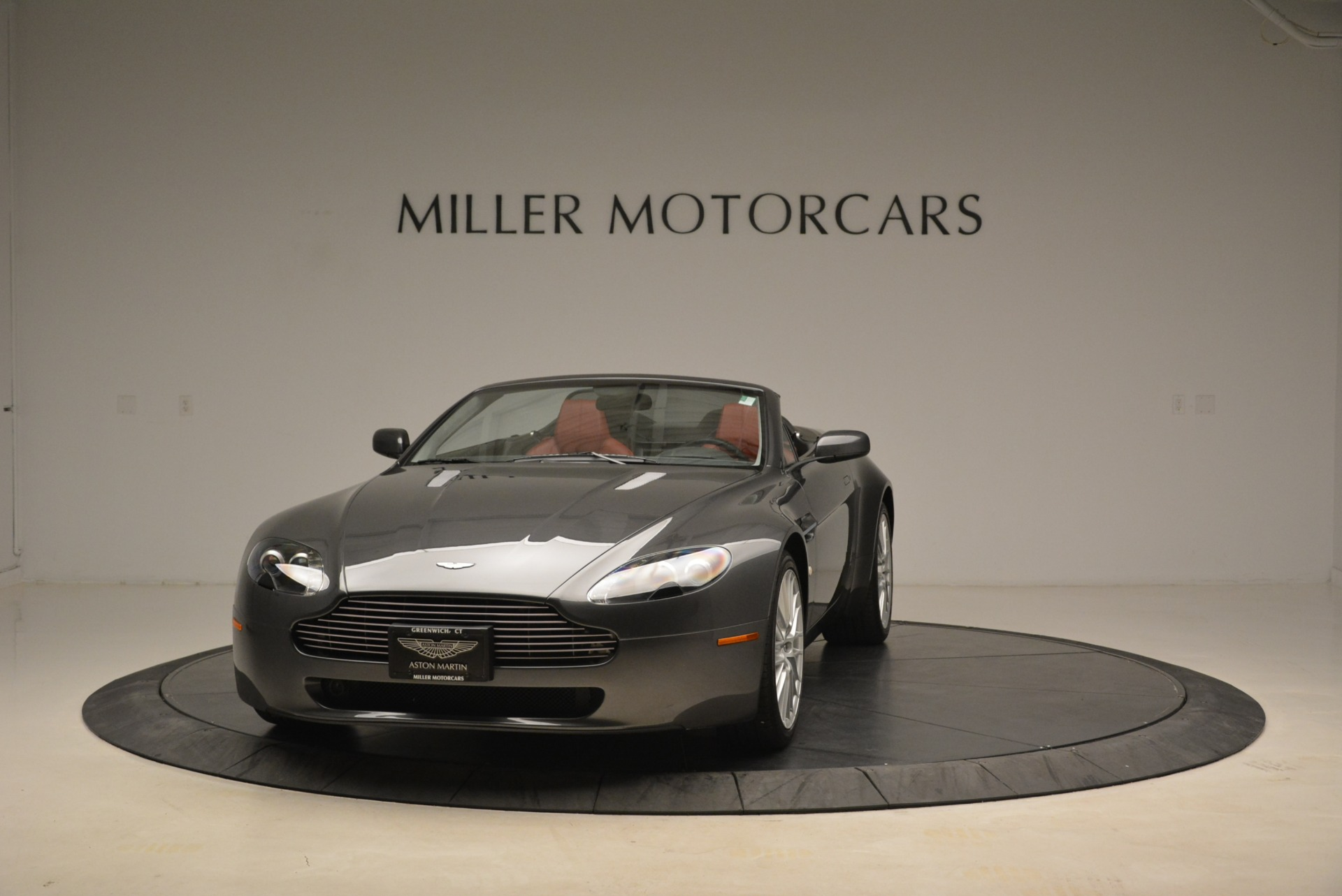 Used 2009 Aston Martin V8 Vantage Roadster For Sale In Greenwich, CT 2123_main