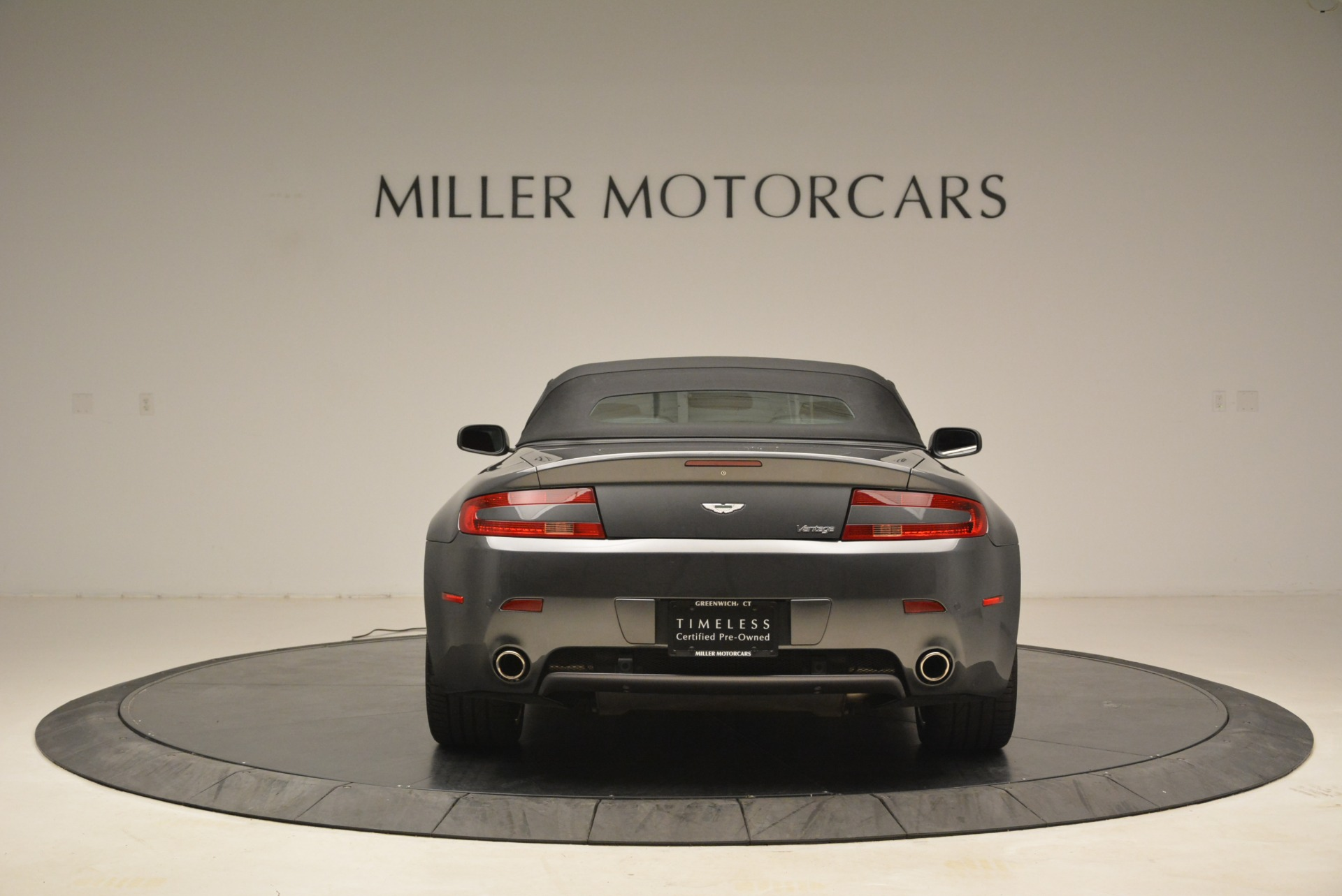 Used 2009 Aston Martin V8 Vantage Roadster For Sale In Greenwich, CT 2123_p18