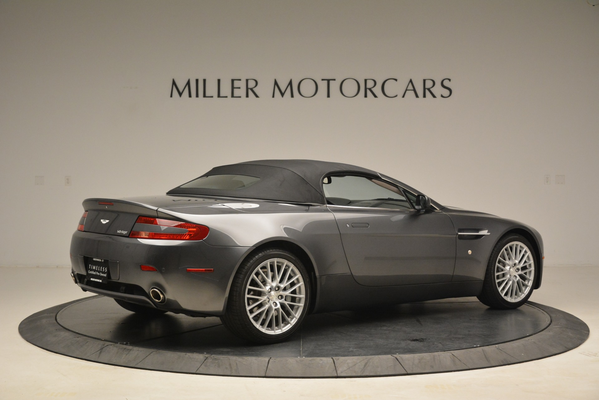 Used 2009 Aston Martin V8 Vantage Roadster For Sale In Greenwich, CT 2123_p20