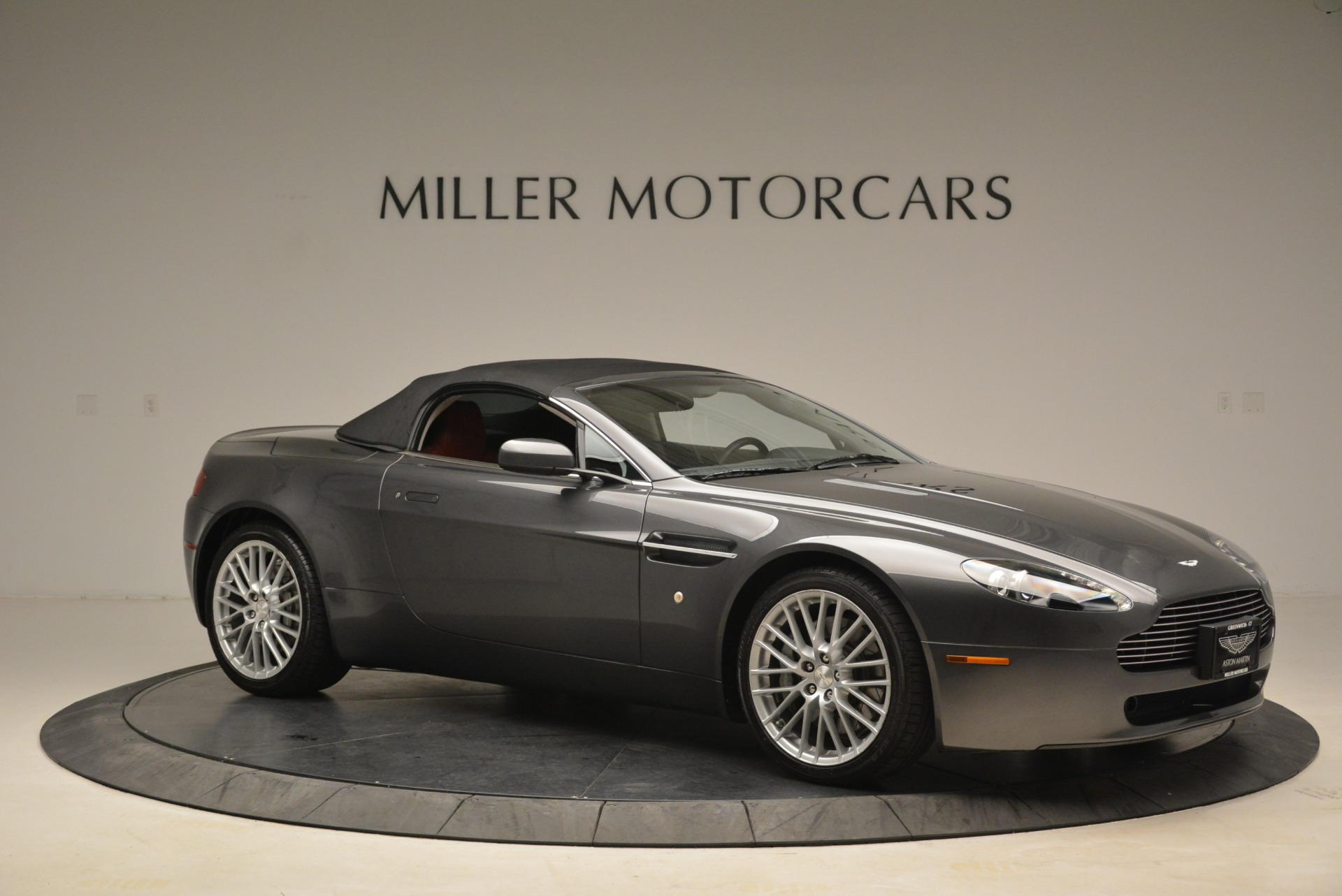 Used 2009 Aston Martin V8 Vantage Roadster For Sale In Greenwich, CT 2123_p22