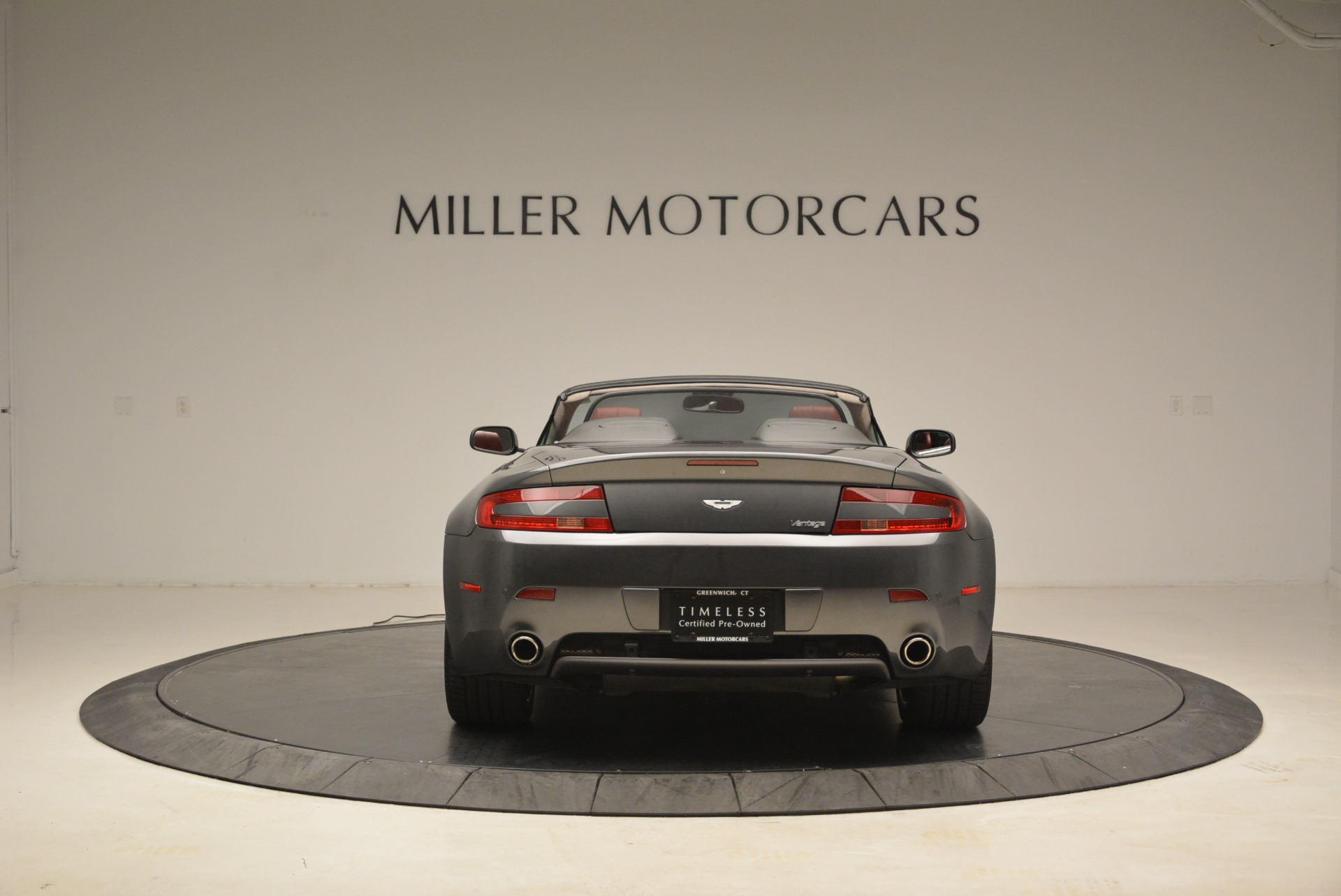 Used 2009 Aston Martin V8 Vantage Roadster For Sale In Greenwich, CT 2123_p6