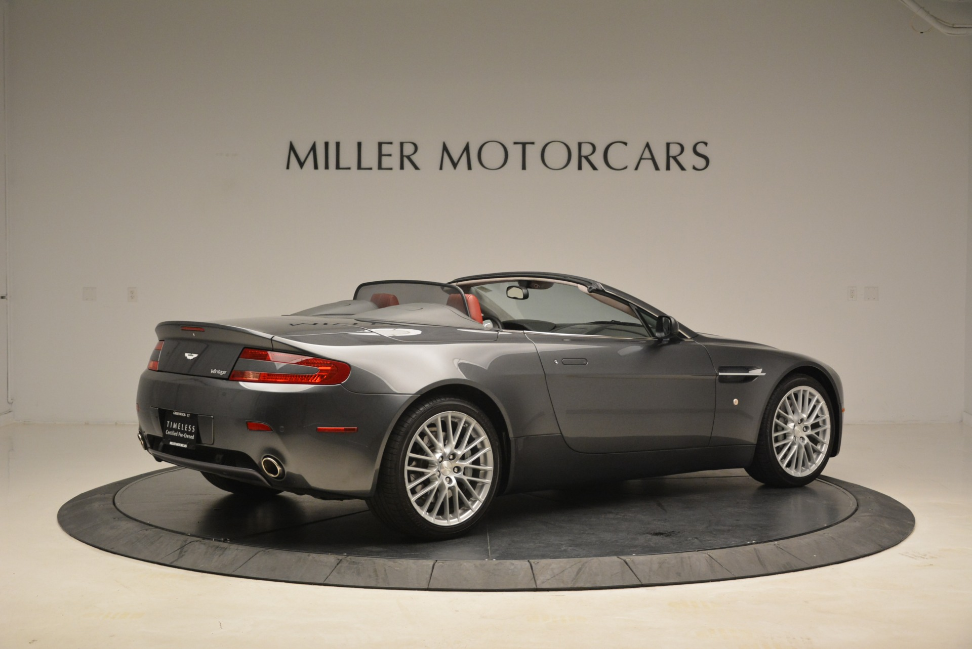 Used 2009 Aston Martin V8 Vantage Roadster For Sale In Greenwich, CT 2123_p8