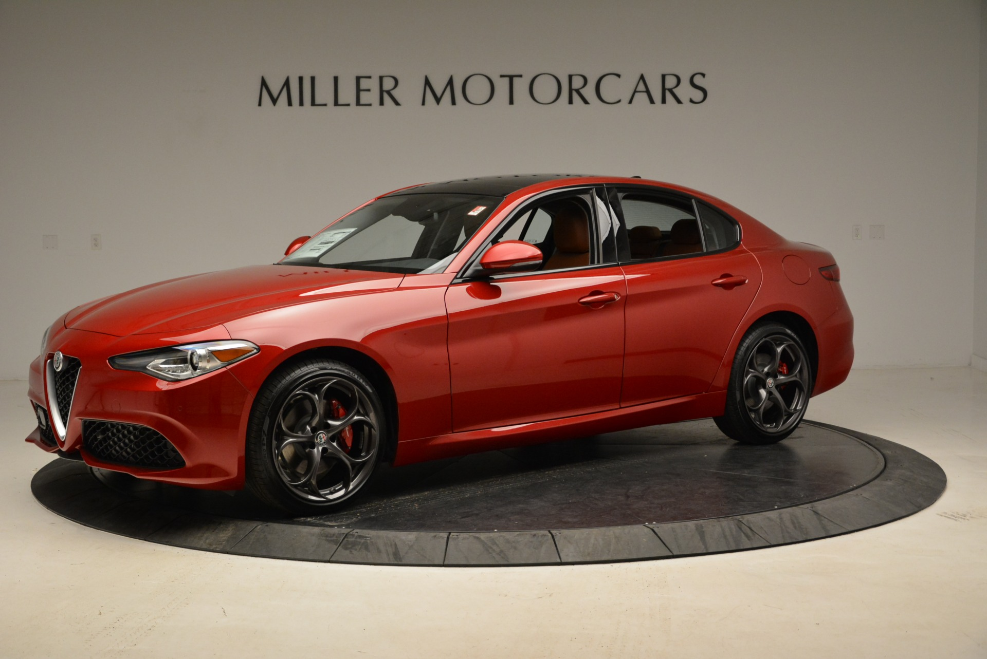 New 2018 Alfa Romeo Giulia Ti Sport Q4 For Sale In Greenwich, CT 2126_p2