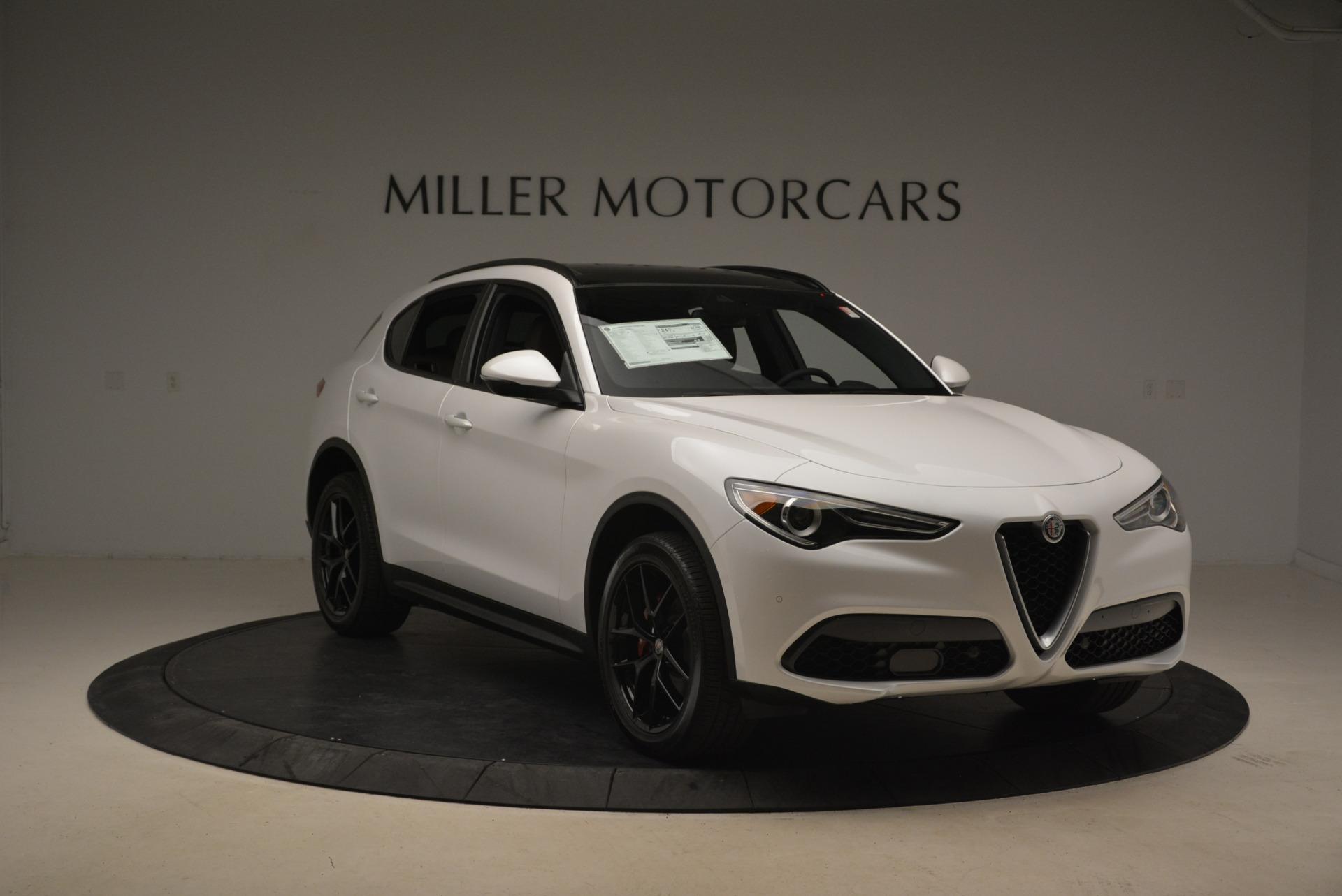 New 2018 Alfa Romeo Stelvio Ti Sport Q4 For Sale In Greenwich, CT 2138_p11