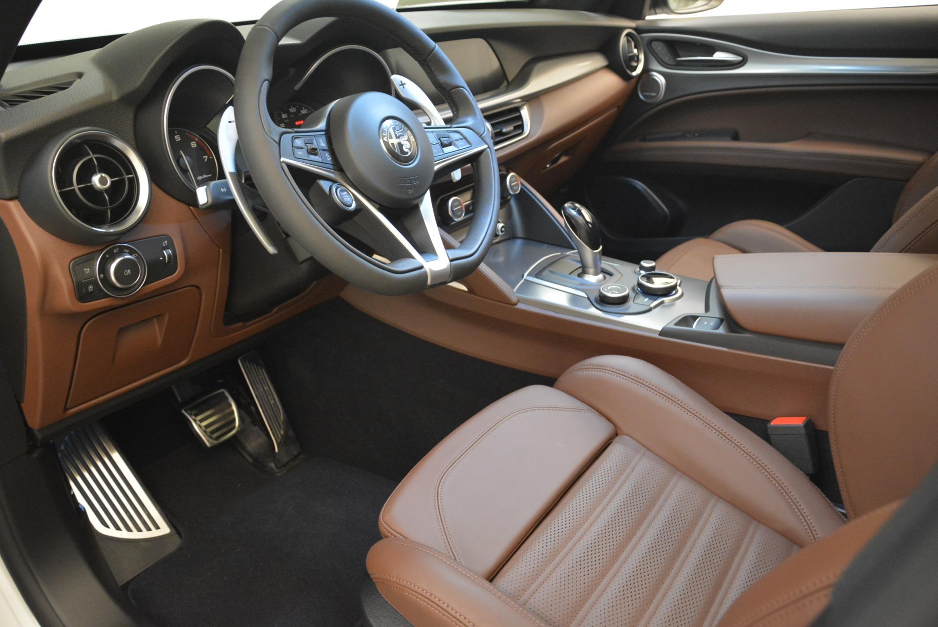 New 2018 Alfa Romeo Stelvio Ti Sport Q4 For Sale In Greenwich, CT 2138_p13