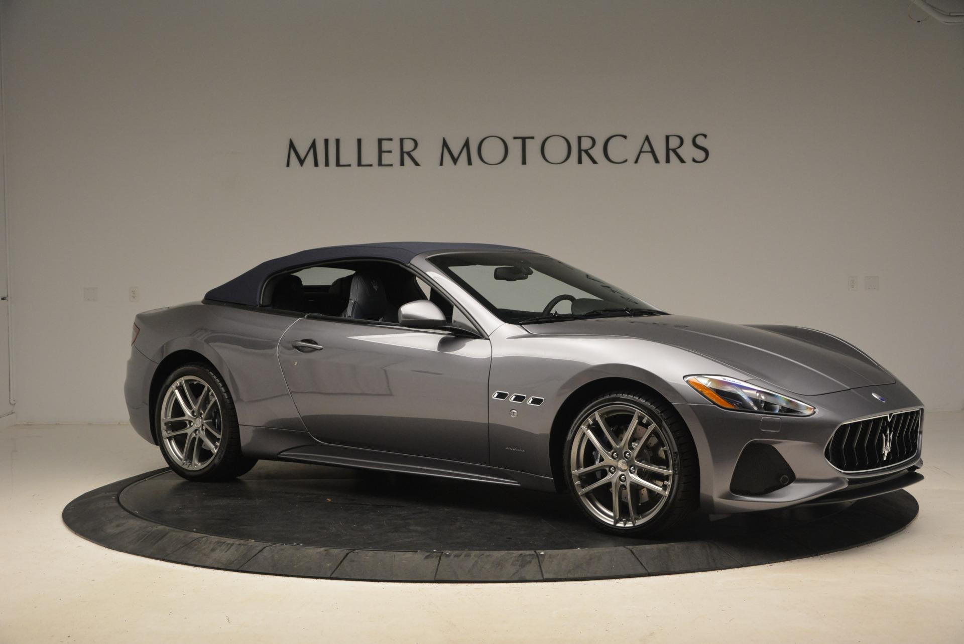 New 2018 Maserati GranTurismo Sport Convertible For Sale In Greenwich, CT 2140_p10