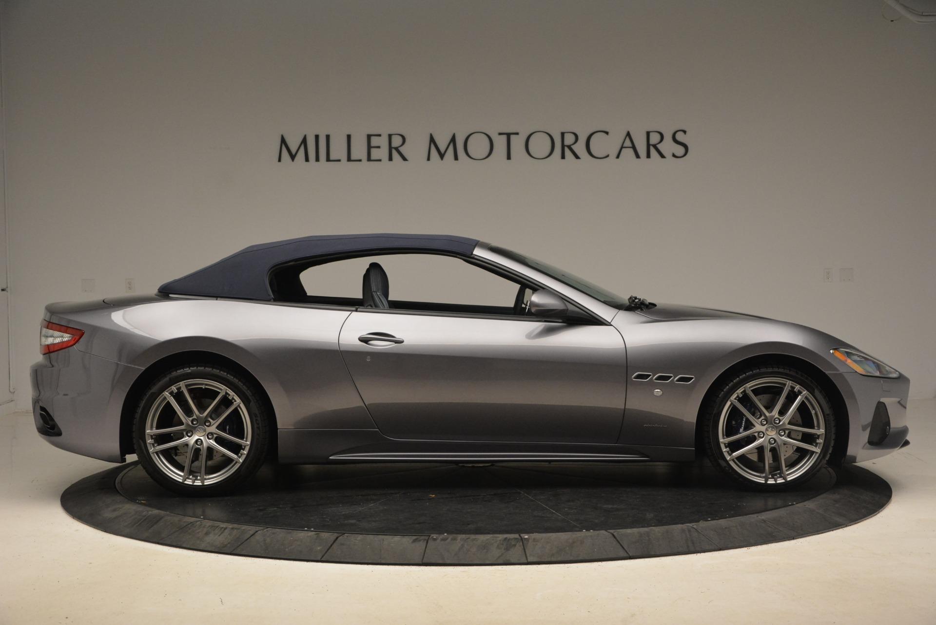 New 2018 Maserati GranTurismo Sport Convertible For Sale In Greenwich, CT 2140_p9