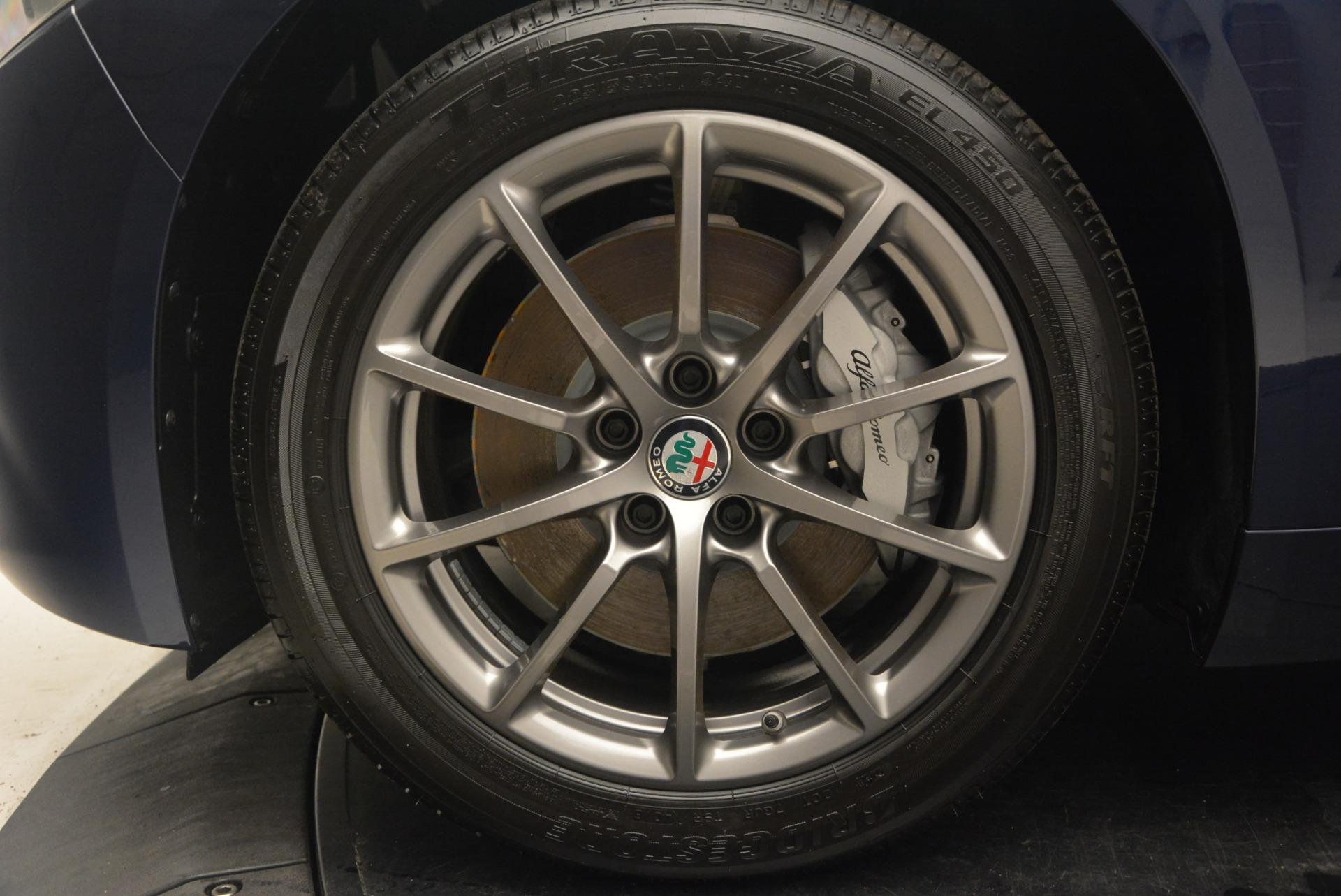 New 2018 Alfa Romeo Giulia Q4 For Sale In Greenwich, CT 2144_p25