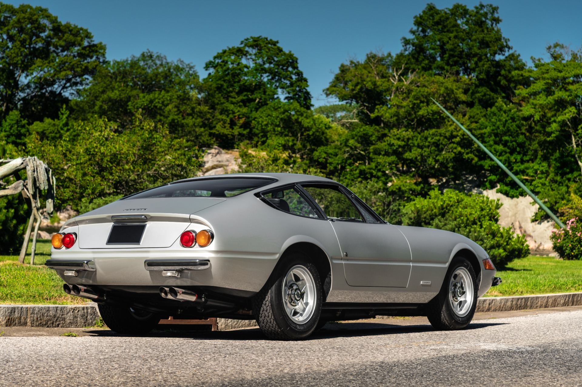 Used 1971 Ferrari 365 GTB/4 Daytona For Sale In Greenwich, CT 2146_p3