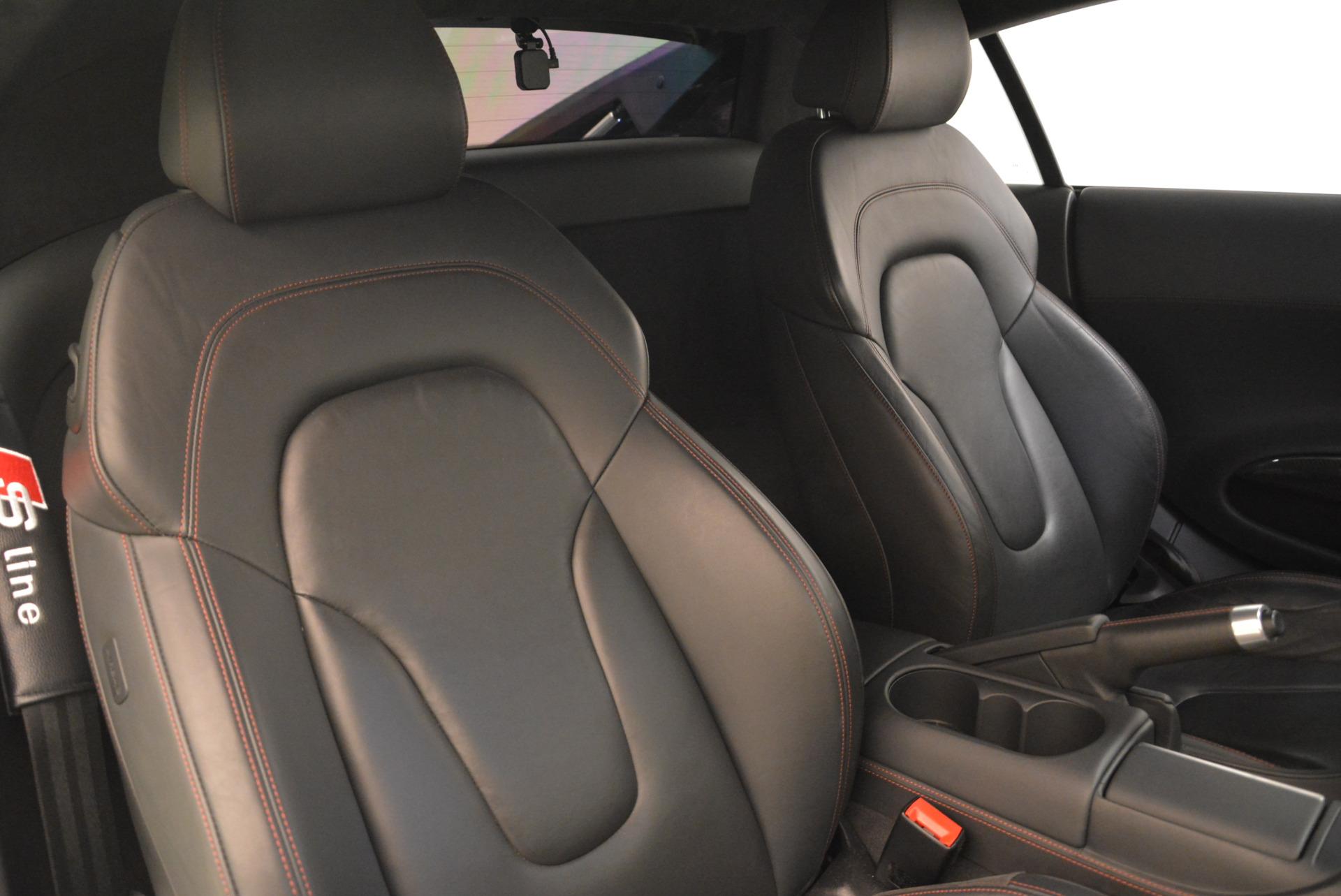 Used 2014 Audi R8 5.2 quattro For Sale In Greenwich, CT 2147_p19