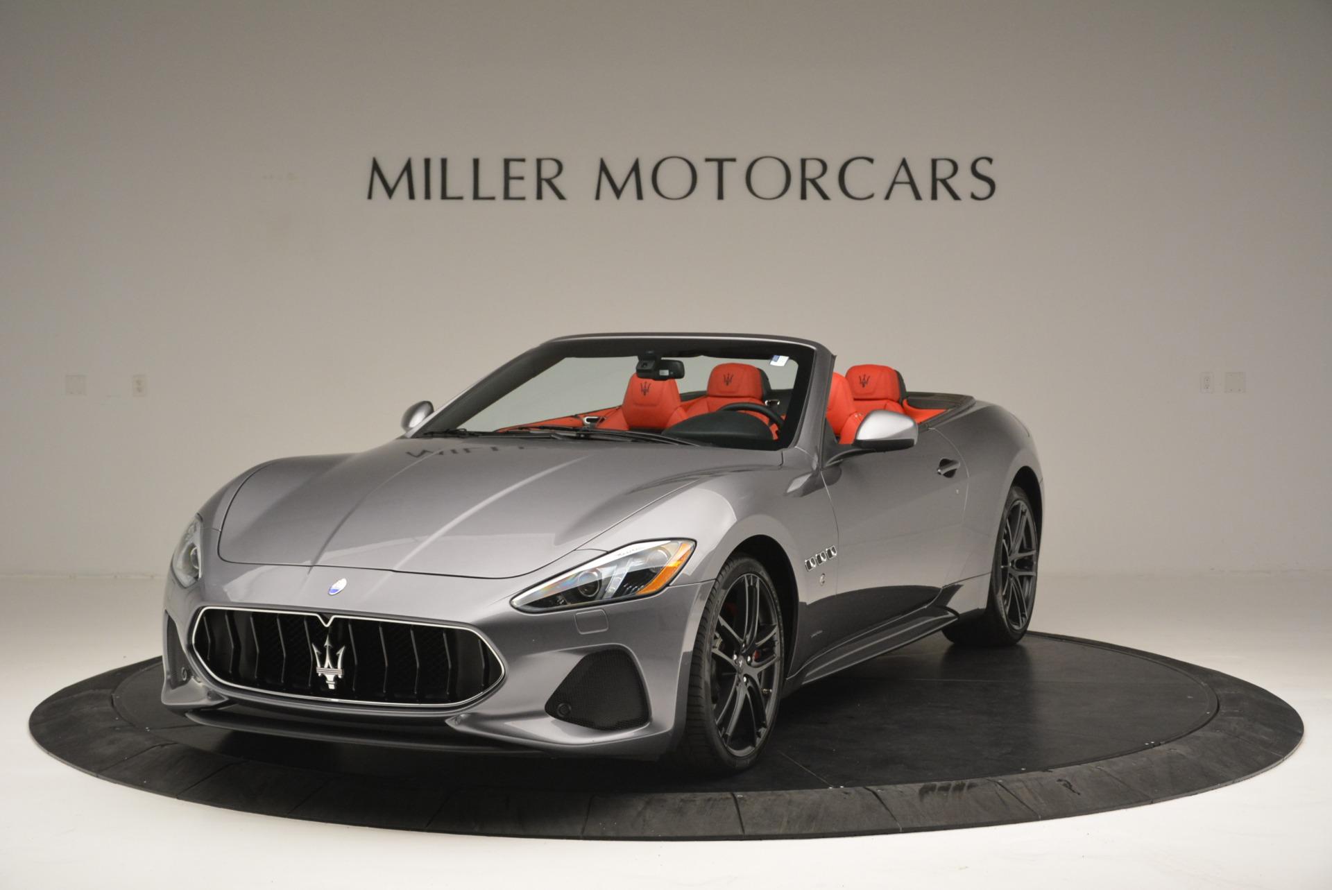 New 2018 Maserati GranTurismo Sport Convertible For Sale In Greenwich, CT 2182_main