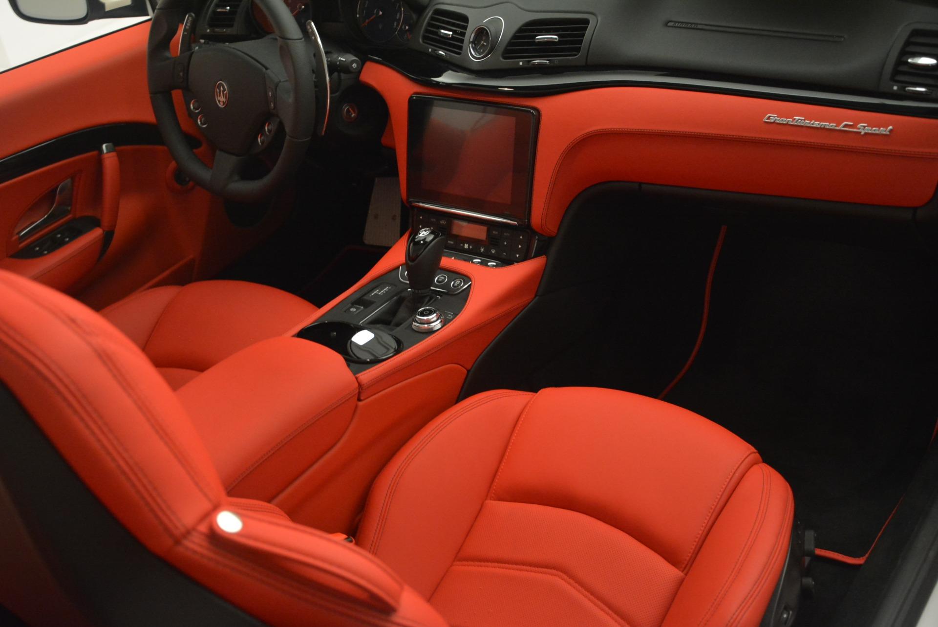 New 2018 Maserati GranTurismo Sport For Sale In Greenwich, CT 2187_p22