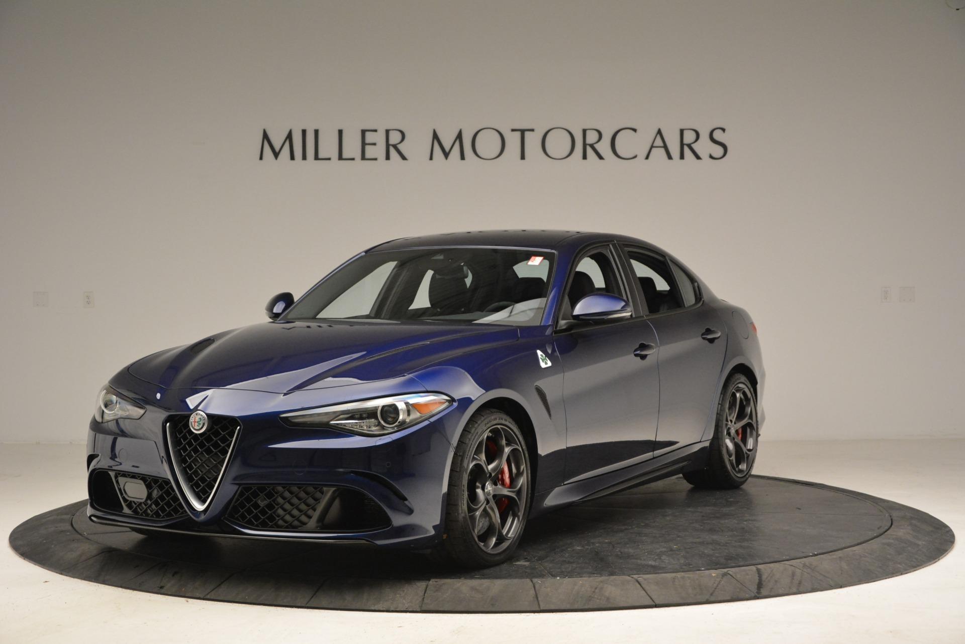 New 2018 Alfa Romeo Giulia Quadrifoglio For Sale In Greenwich, CT 2192_main