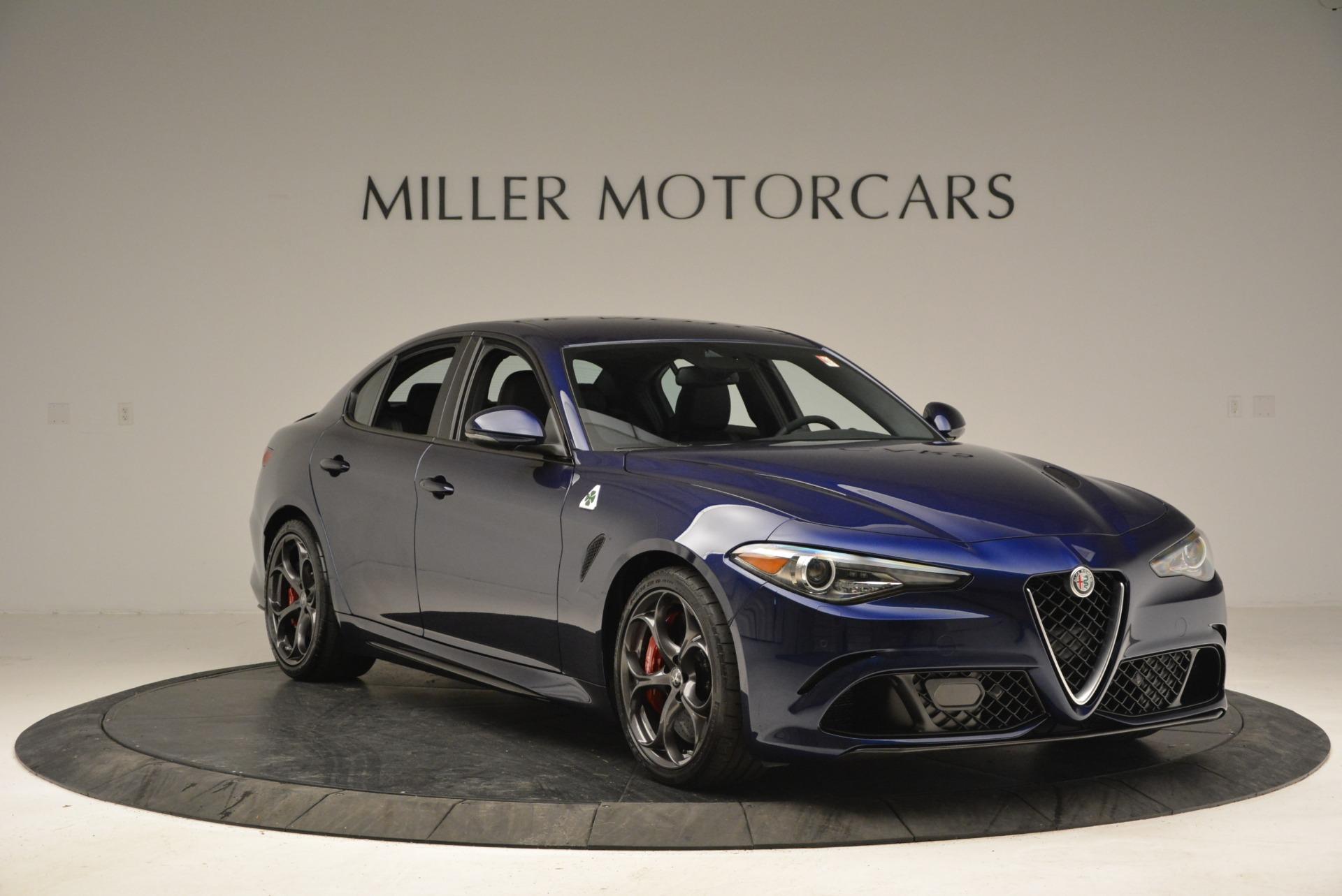 New 2018 Alfa Romeo Giulia Quadrifoglio For Sale In Greenwich, CT 2192_p11