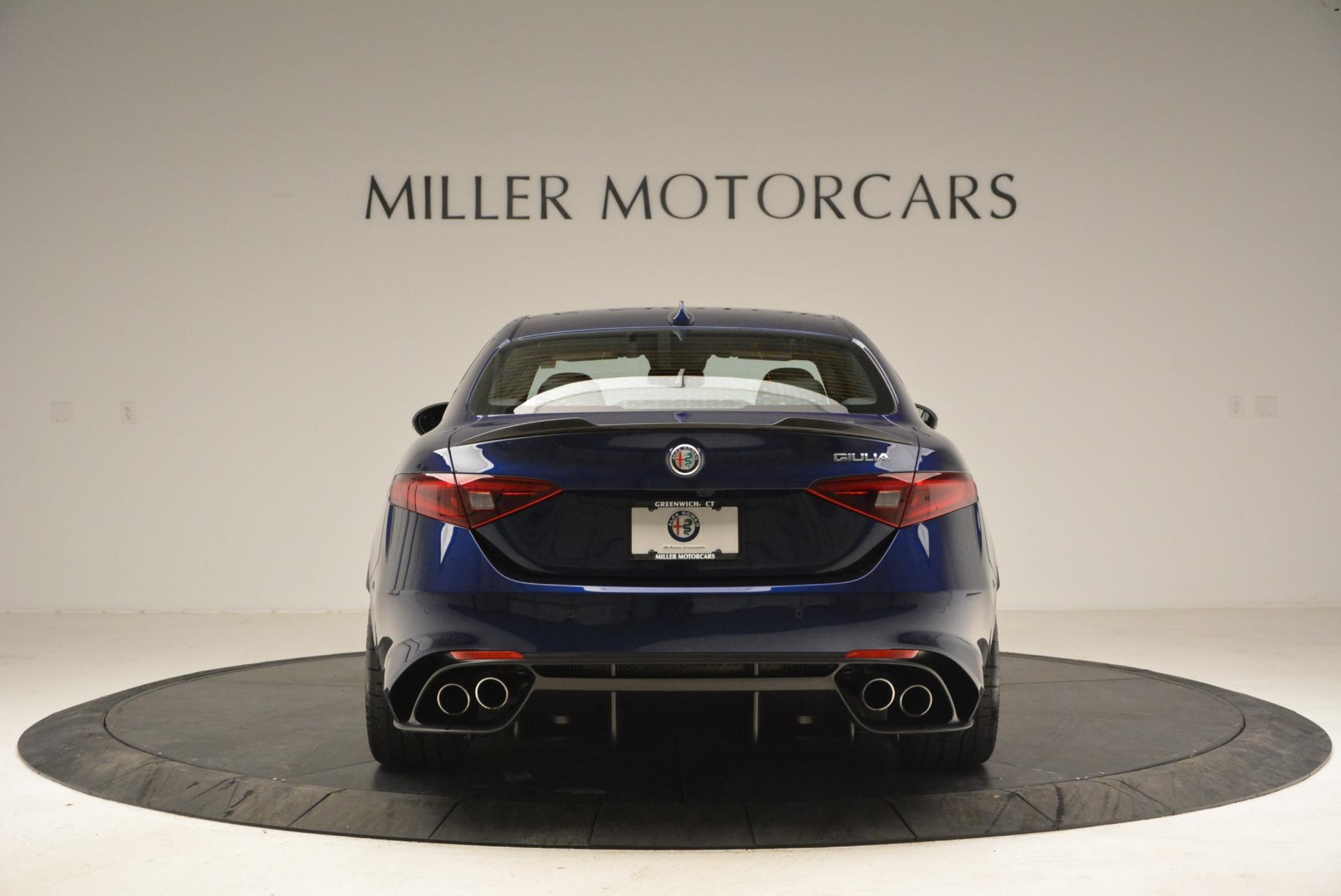 New 2018 Alfa Romeo Giulia Quadrifoglio For Sale In Greenwich, CT 2192_p6
