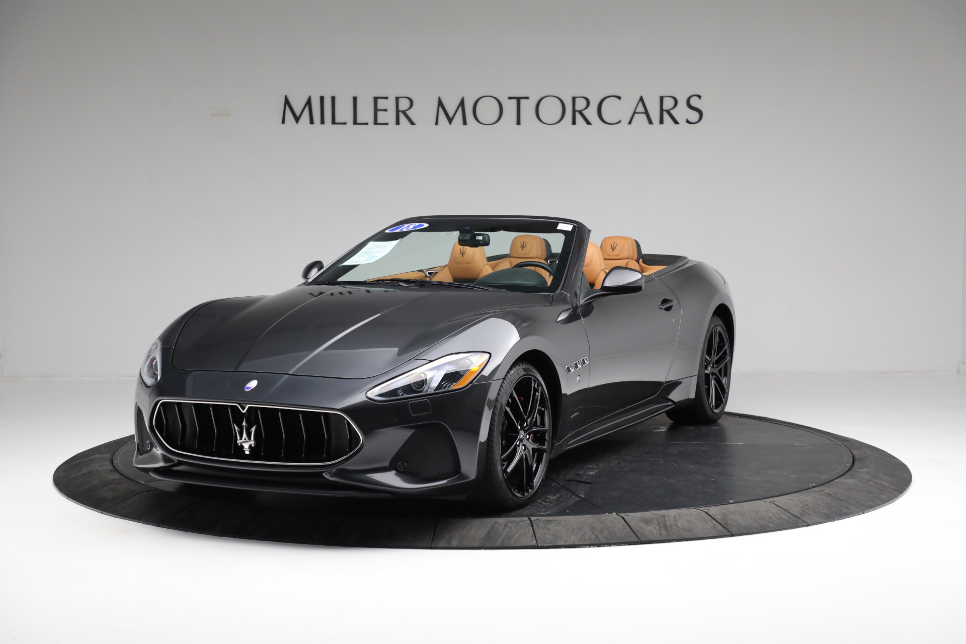 New 2018 Maserati GranTurismo Sport Convertible For Sale In Greenwich, CT 2198_main