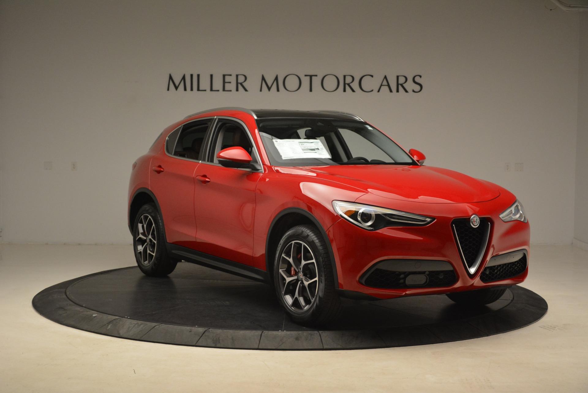 New 2018 Alfa Romeo Stelvio Ti Q4 For Sale In Greenwich, CT 2201_p11