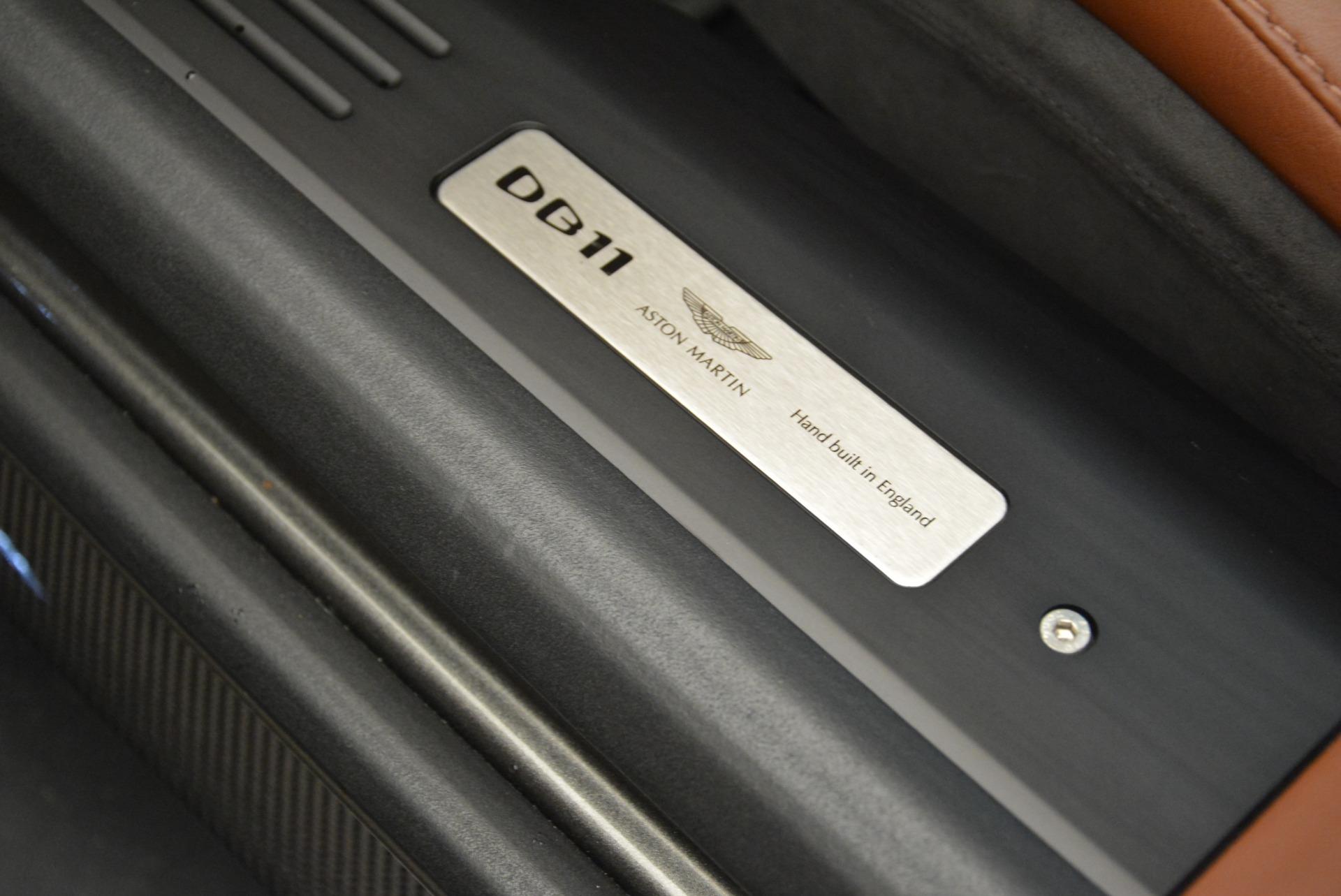 New 2019 Aston Martin DB11 Volante  For Sale In Greenwich, CT 2209_p31