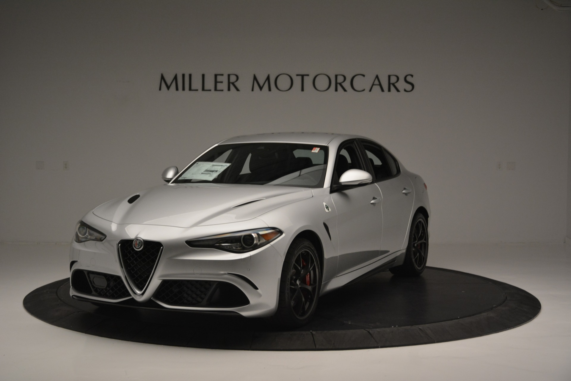 New 2018 Alfa Romeo Giulia Quadrifoglio For Sale In Greenwich, CT 2222_main