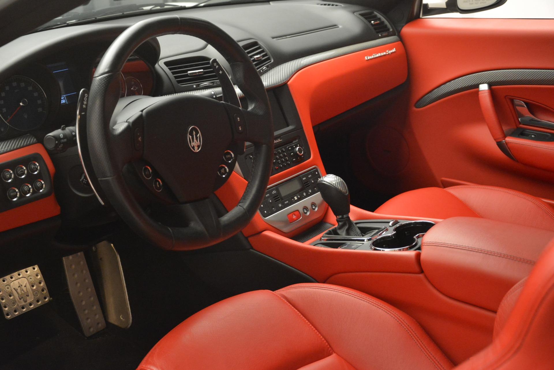 Used 2015 Maserati GranTurismo Sport For Sale In Greenwich, CT 2233_p13