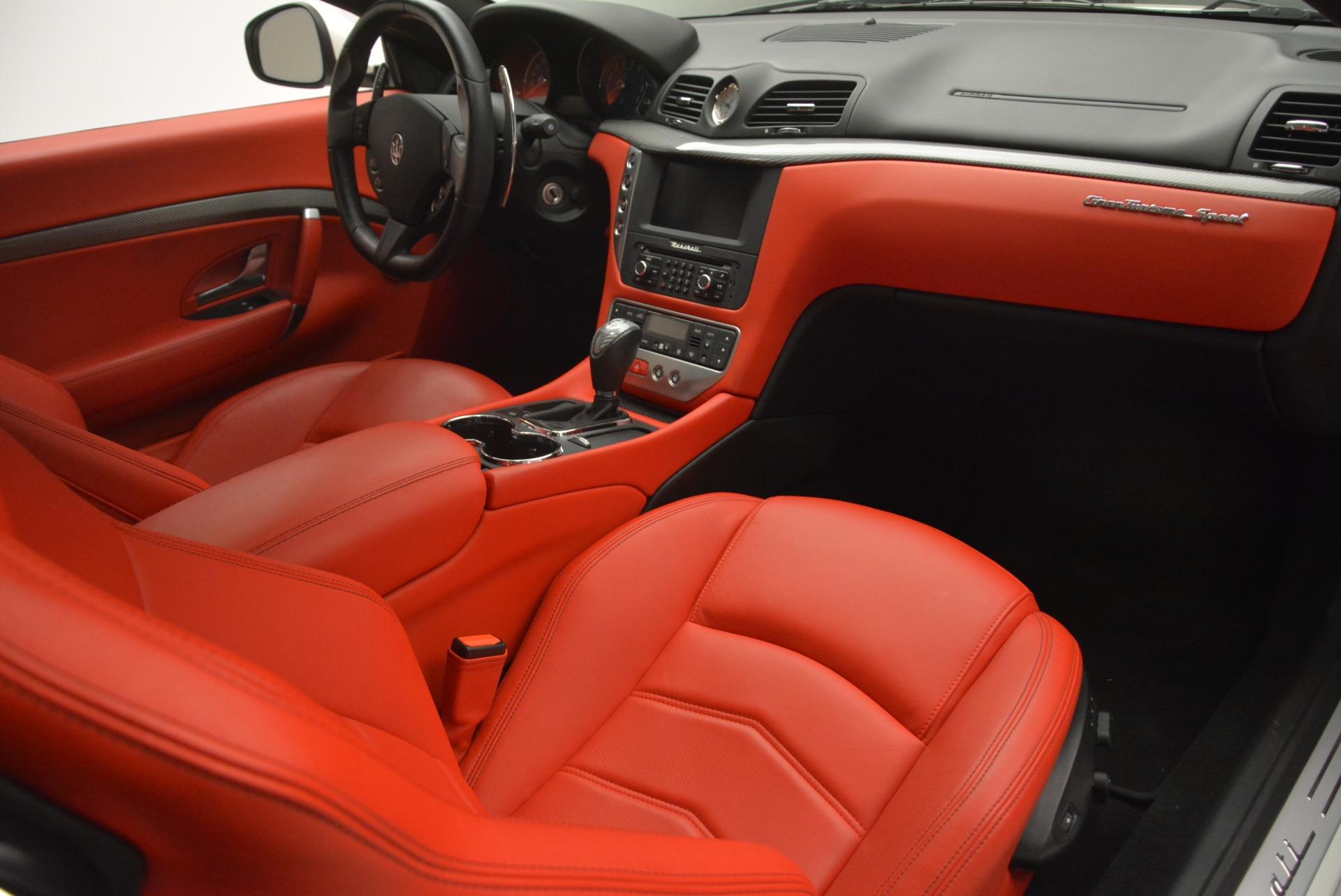 Used 2015 Maserati GranTurismo Sport For Sale In Greenwich, CT 2233_p19