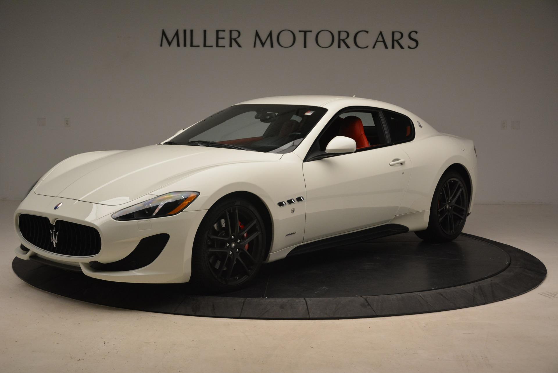 Used 2015 Maserati GranTurismo Sport For Sale In Greenwich, CT 2233_p2