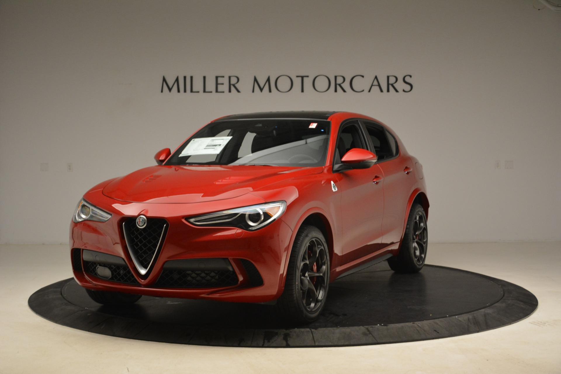 New 2018 Alfa Romeo Stelvio Quadrifoglio For Sale In Greenwich, CT 2251_main