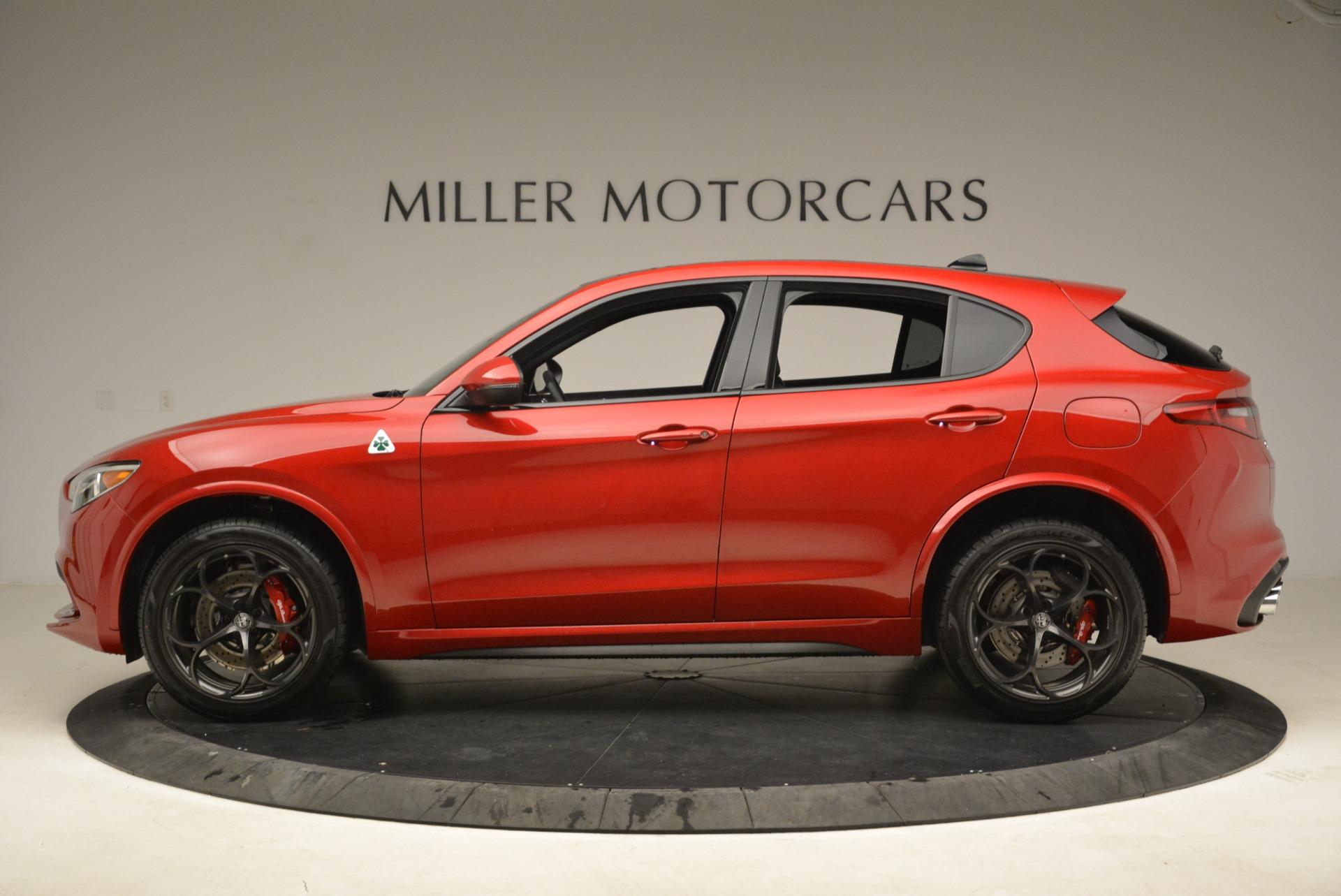 New 2018 Alfa Romeo Stelvio Quadrifoglio For Sale In Greenwich, CT 2251_p3