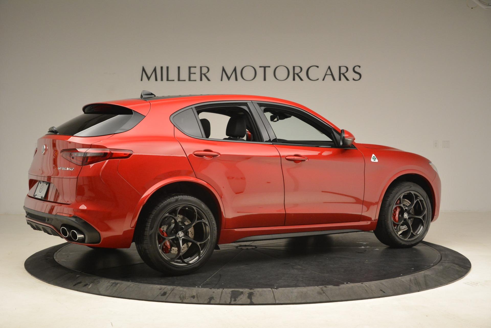 New 2018 Alfa Romeo Stelvio Quadrifoglio For Sale In Greenwich, CT 2251_p8