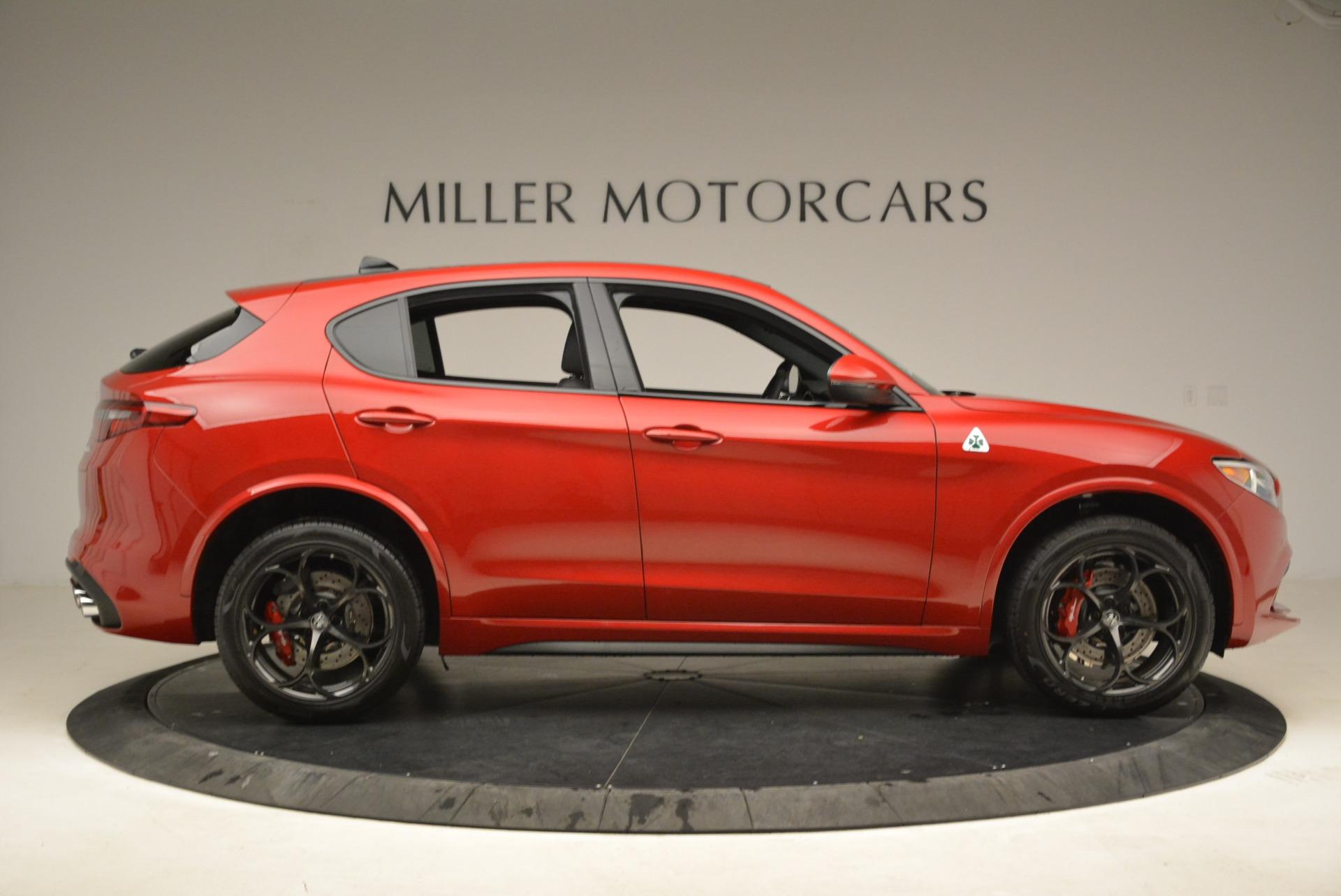 New 2018 Alfa Romeo Stelvio Quadrifoglio For Sale In Greenwich, CT 2251_p9