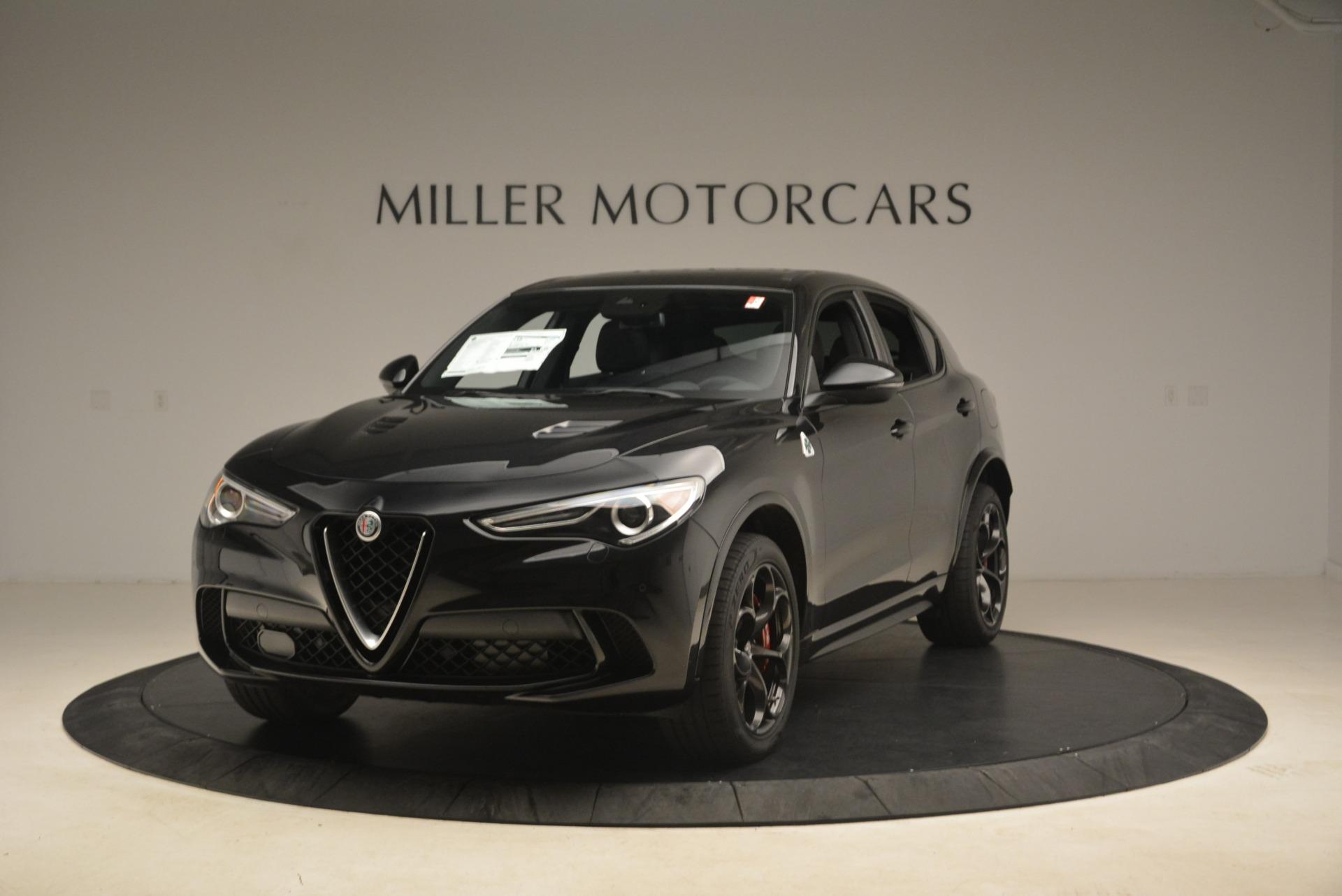 New 2018 Alfa Romeo Stelvio Quadrifoglio For Sale In Greenwich, CT 2253_main