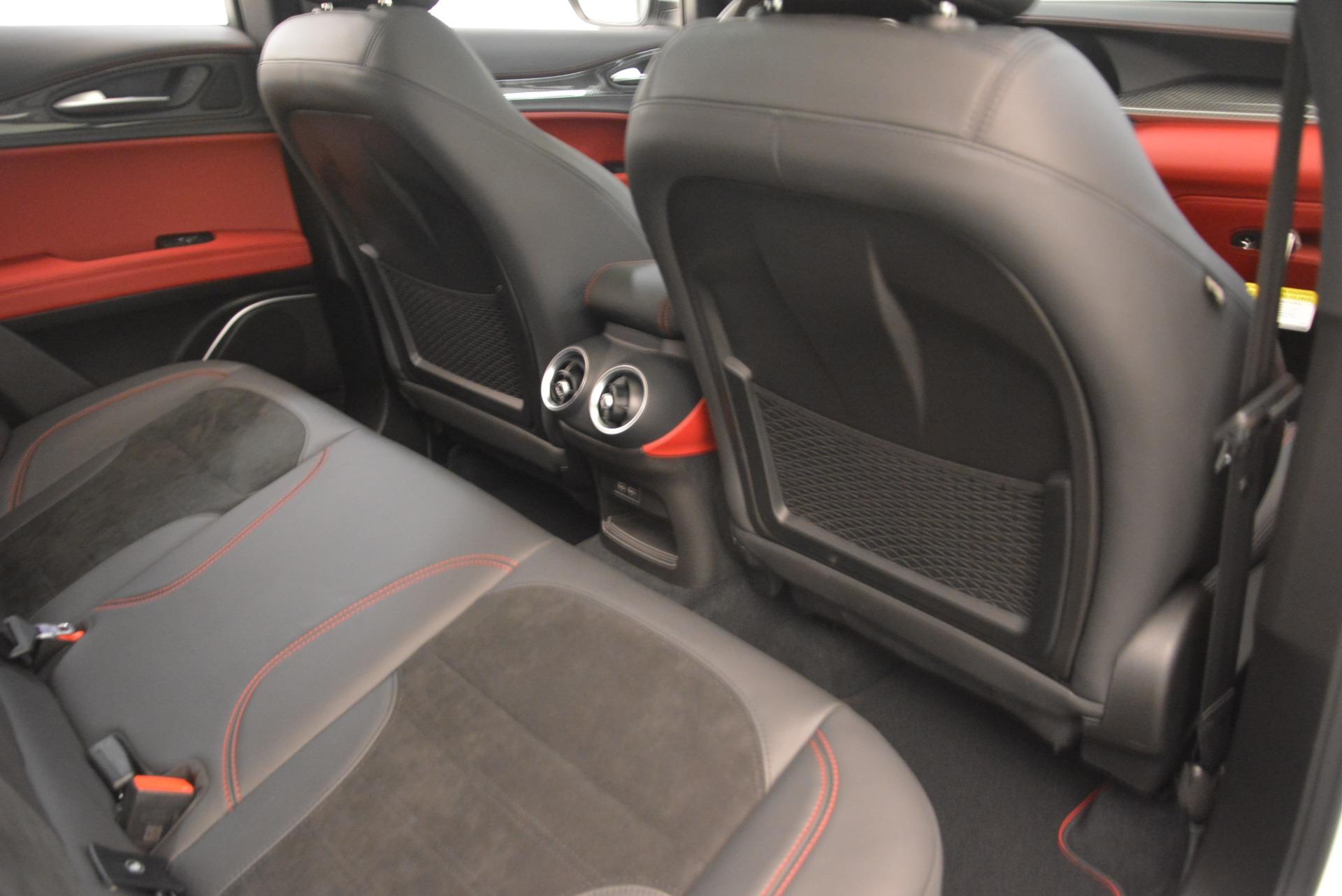 New 2018 Alfa Romeo Stelvio Quadrifoglio For Sale In Greenwich, CT 2254_p23
