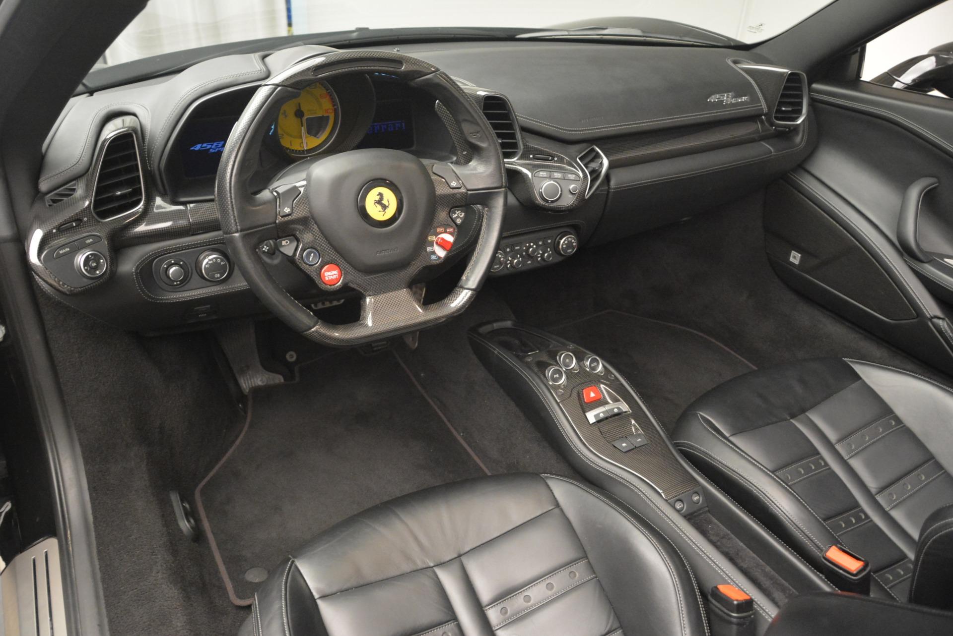 Used 2013 Ferrari 458 Spider  For Sale In Greenwich, CT 2257_p25