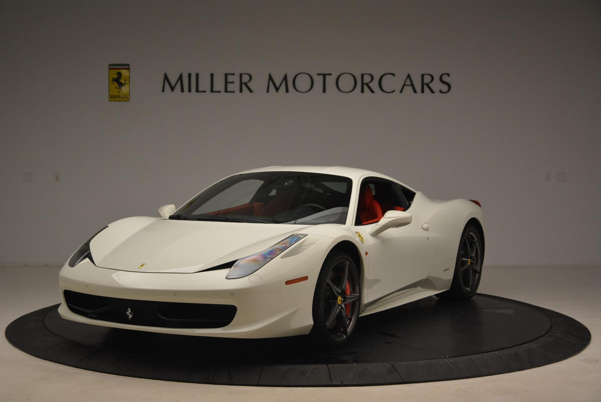 Used 2014 Ferrari 458 Italia  For Sale In Greenwich, CT 2260_main