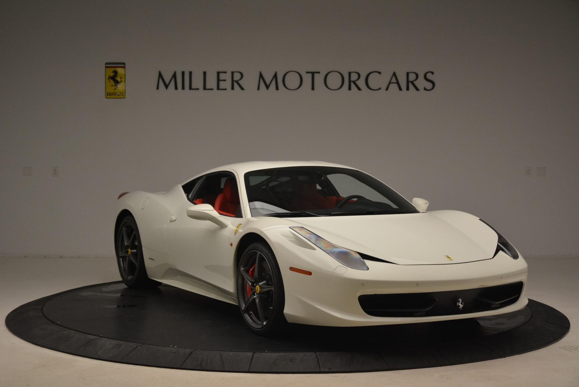 Used 2014 Ferrari 458 Italia  For Sale In Greenwich, CT 2260_p11