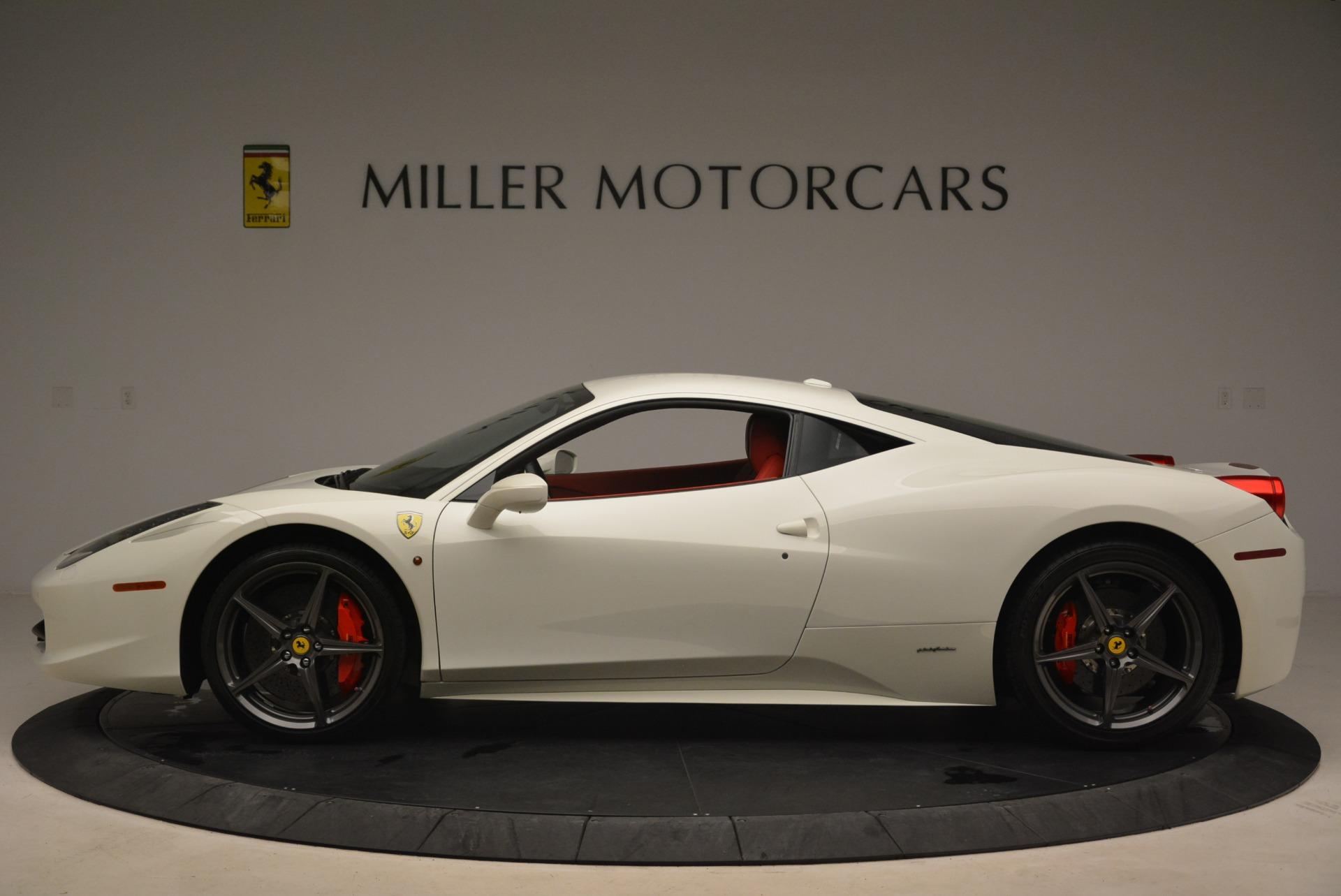 Used 2014 Ferrari 458 Italia  For Sale In Greenwich, CT 2260_p3
