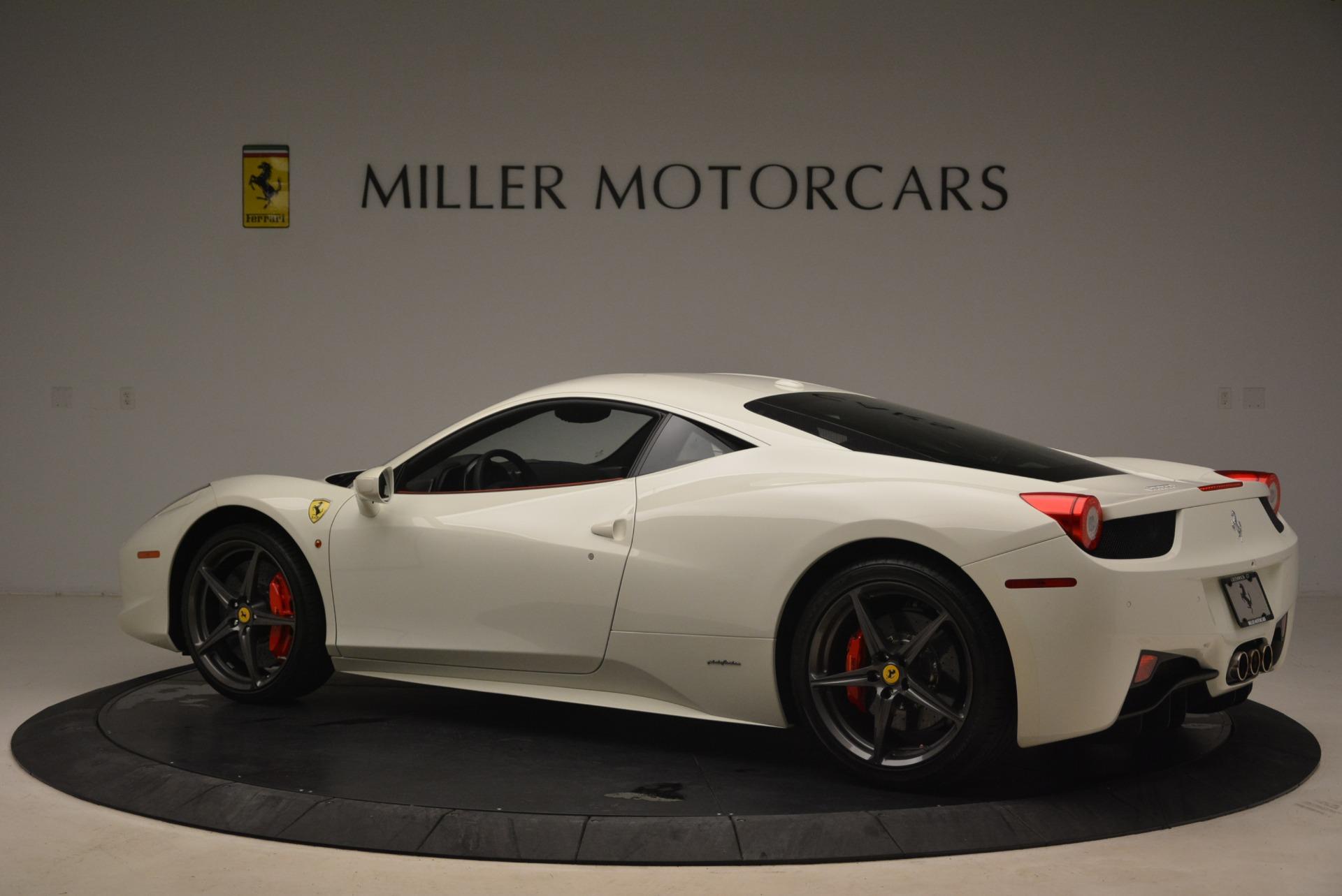 Used 2014 Ferrari 458 Italia  For Sale In Greenwich, CT 2260_p4