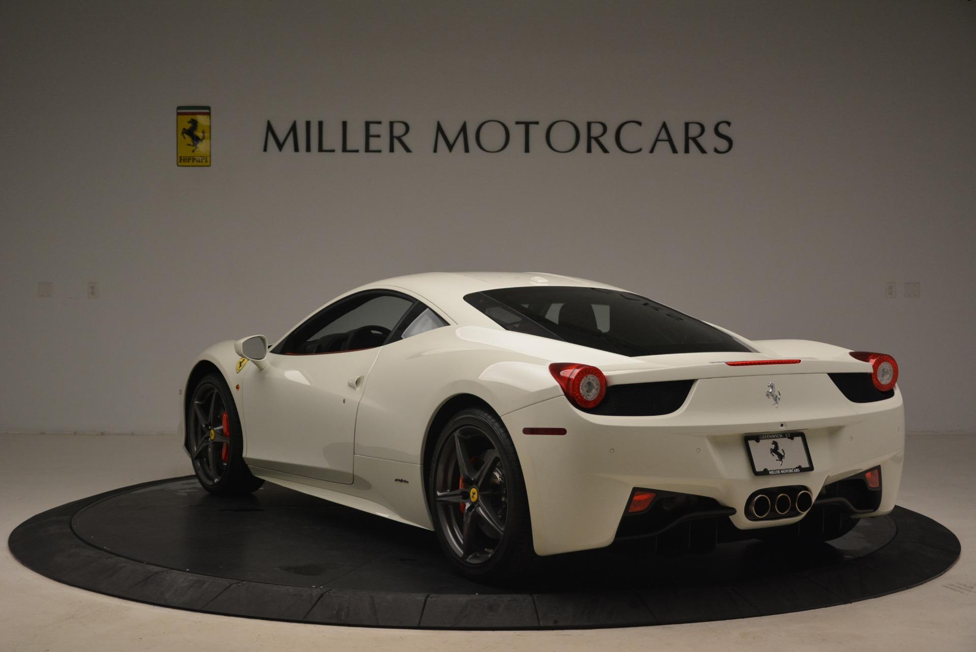 Used 2014 Ferrari 458 Italia  For Sale In Greenwich, CT 2260_p5