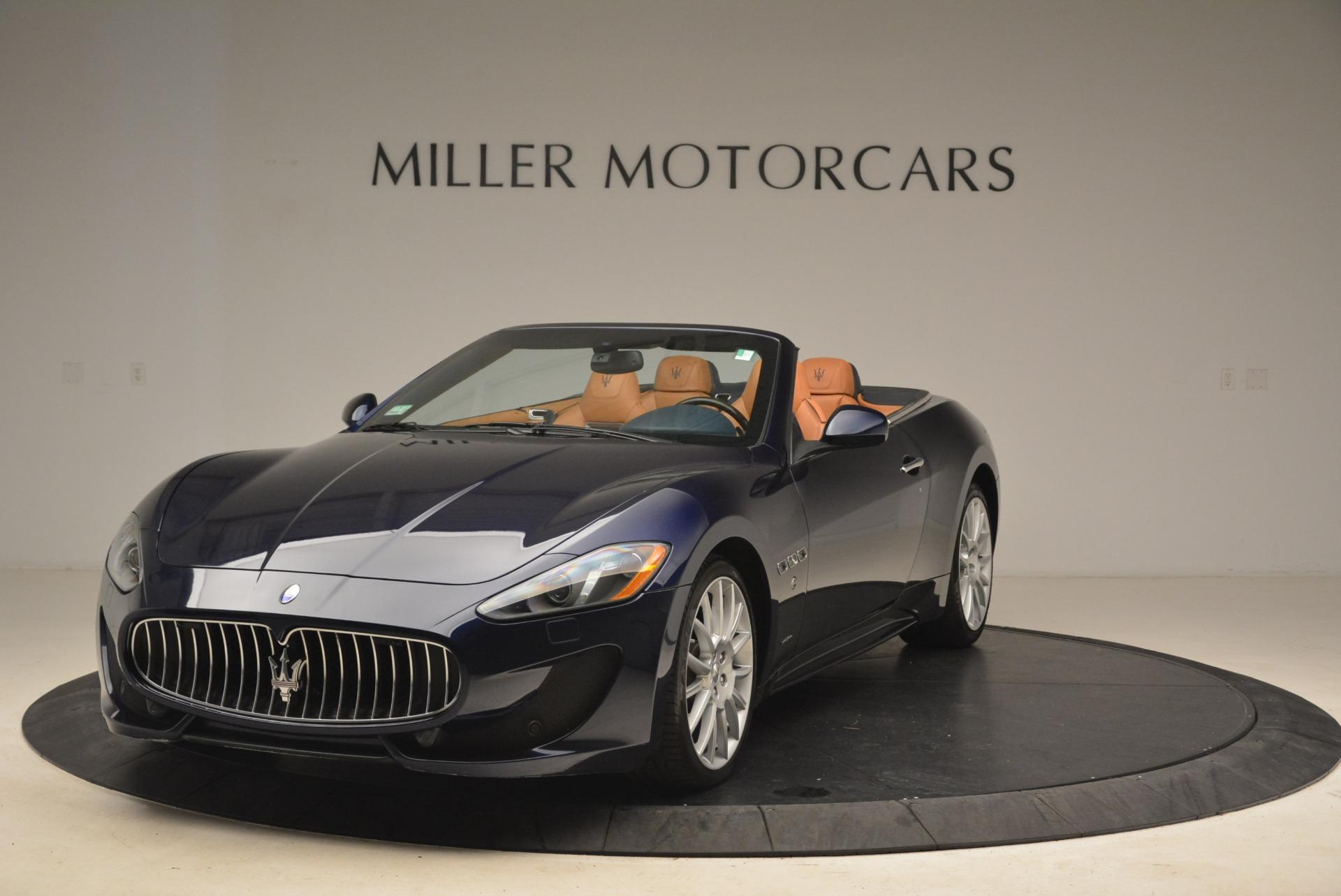 Used 2014 Maserati GranTurismo Sport For Sale In Greenwich, CT 2269_main