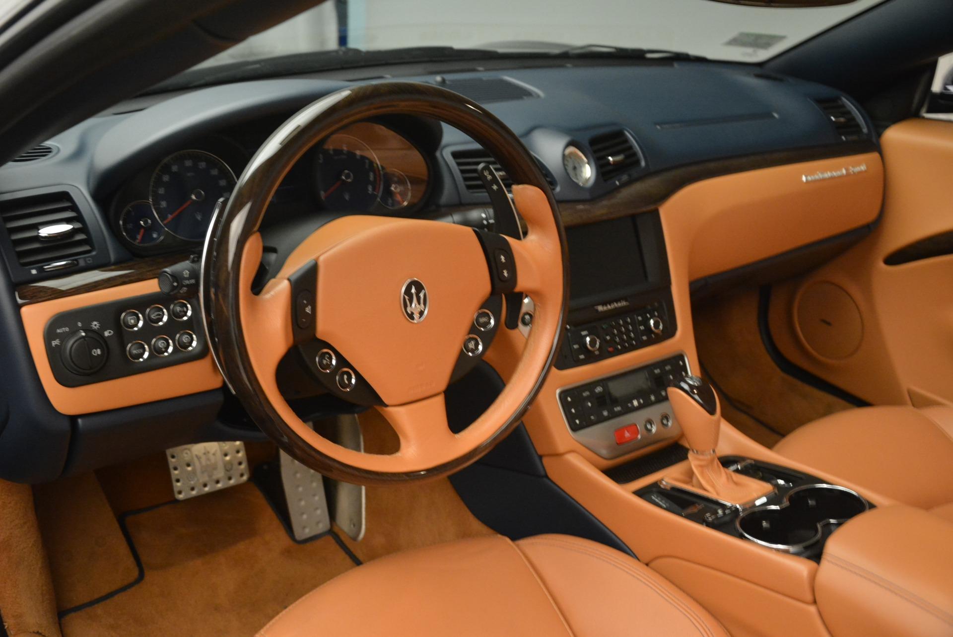Used 2014 Maserati GranTurismo Sport For Sale In Greenwich, CT 2269_p23